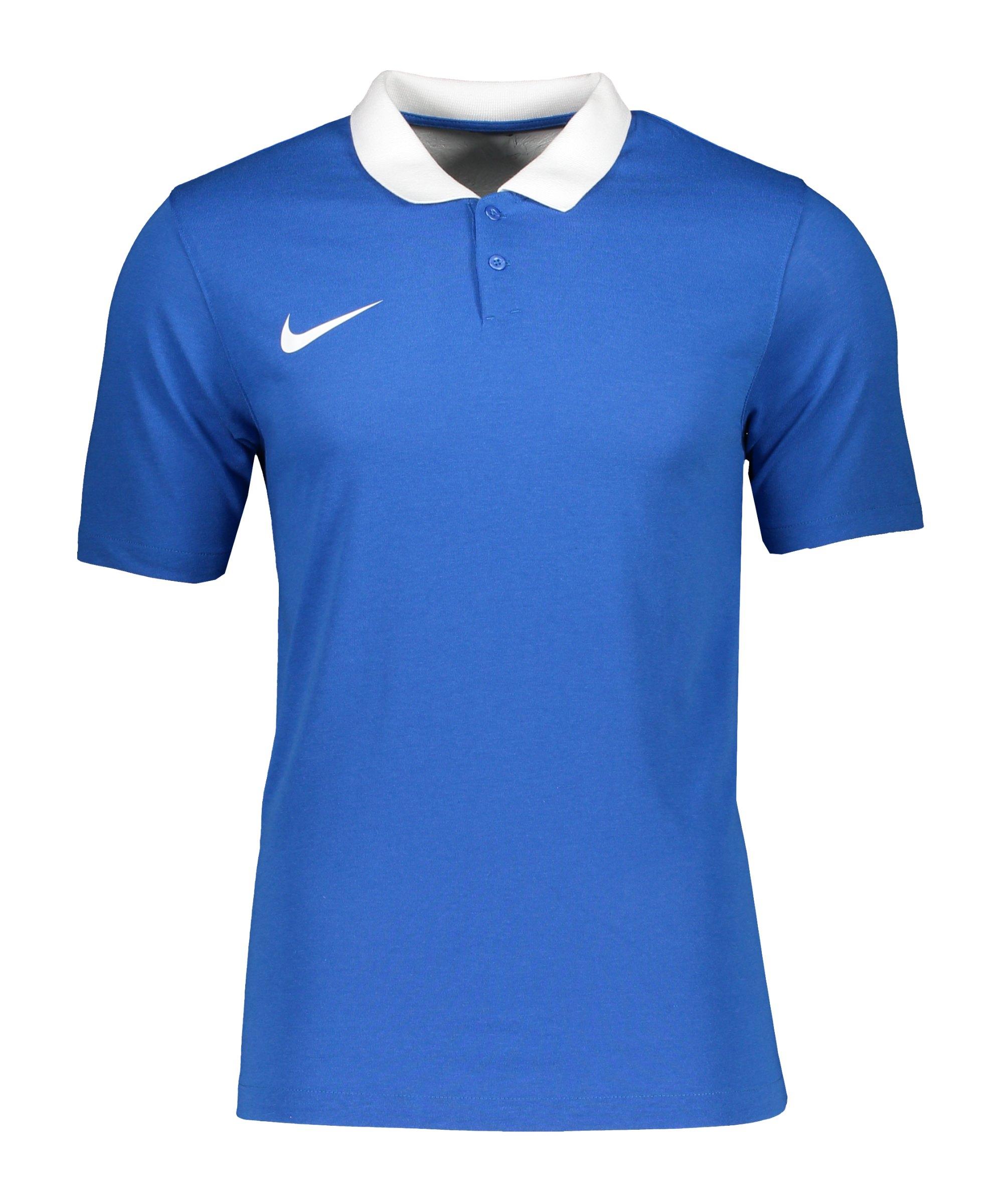 Nike Park 20 Poloshirt Kids Blau Weiss F463 - blau