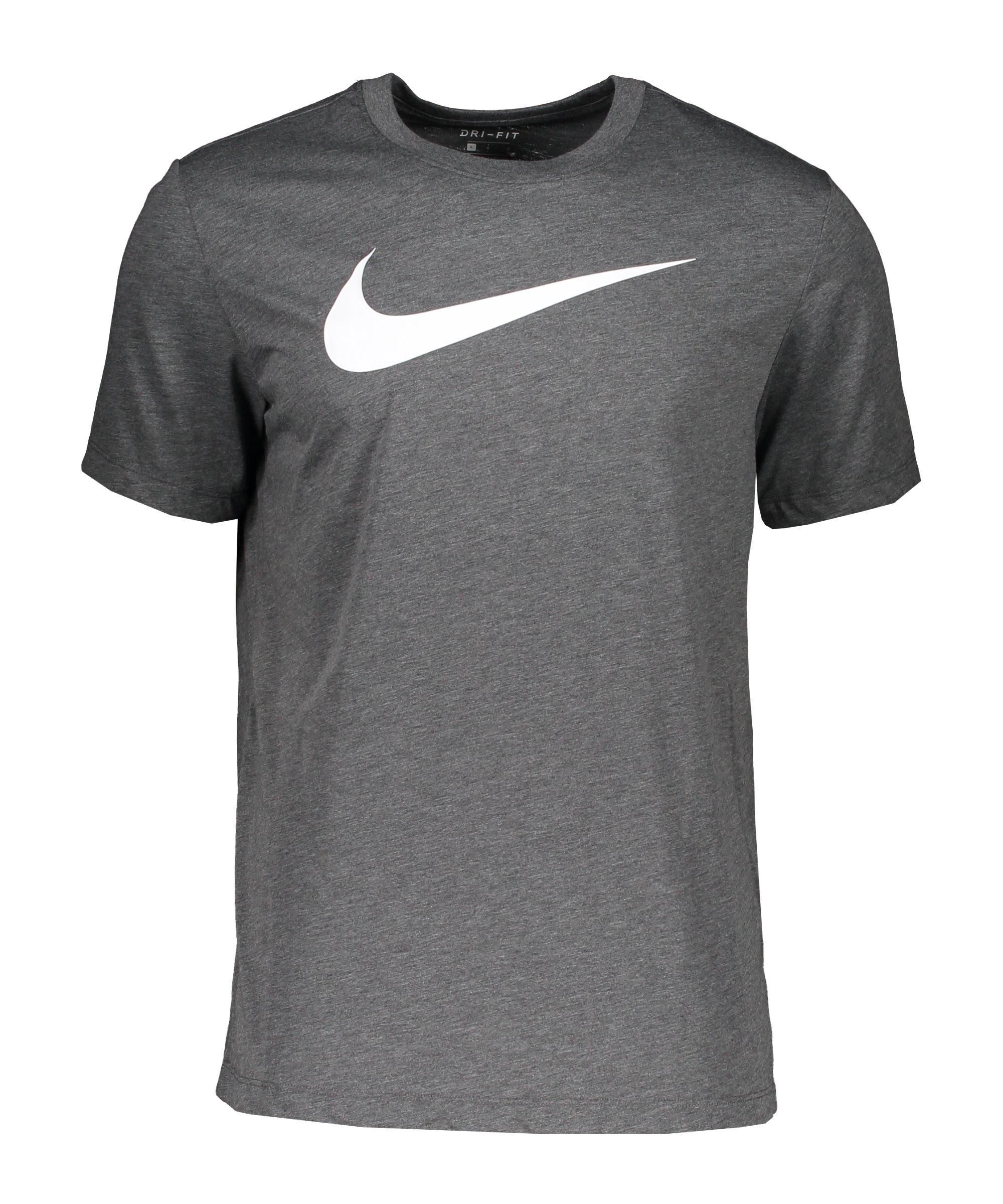 Nike Park 20 T-Shirt Swoosh Grau F071 - grau