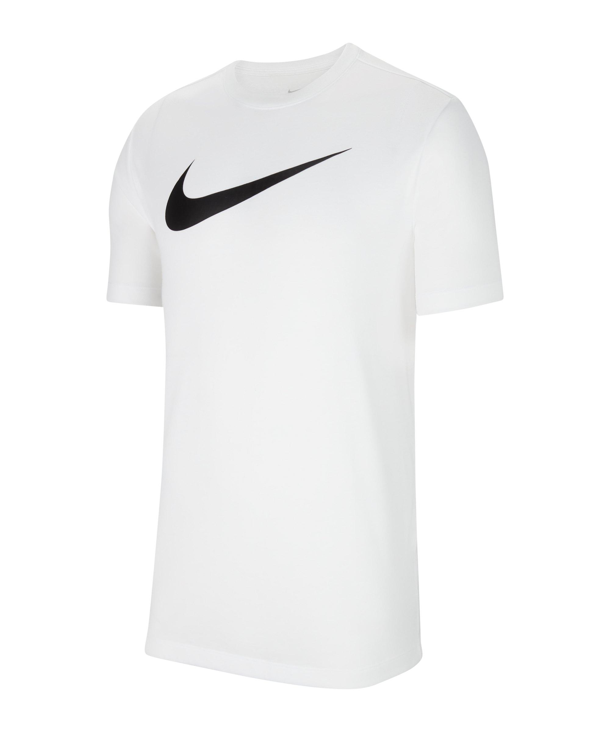 Nike Park 20 T-Shirt Swoosh Weiss F100 - weiss