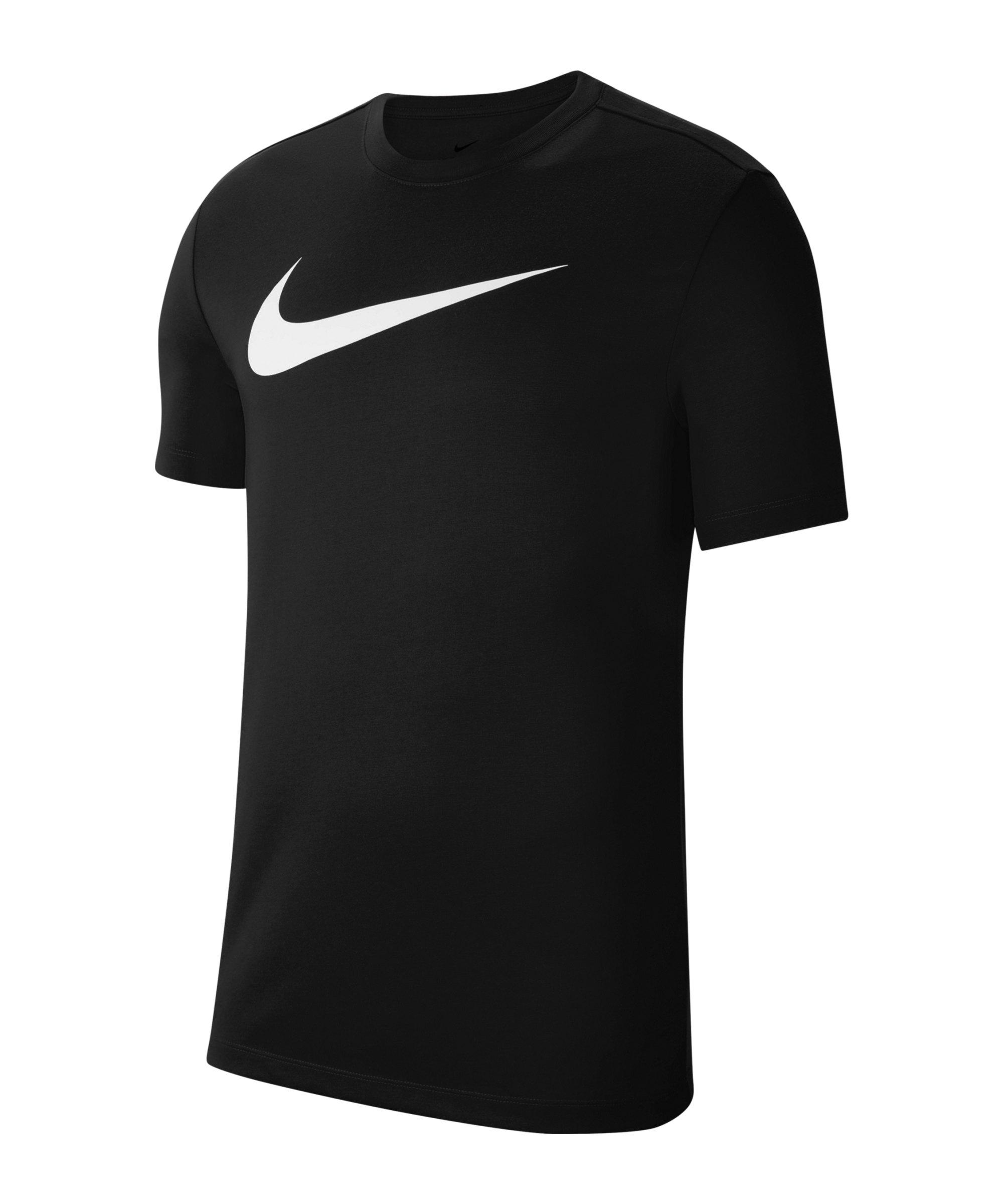 Nike Park 20 Swoosh T-Shirt Kids Schwarz F010 - schwarz