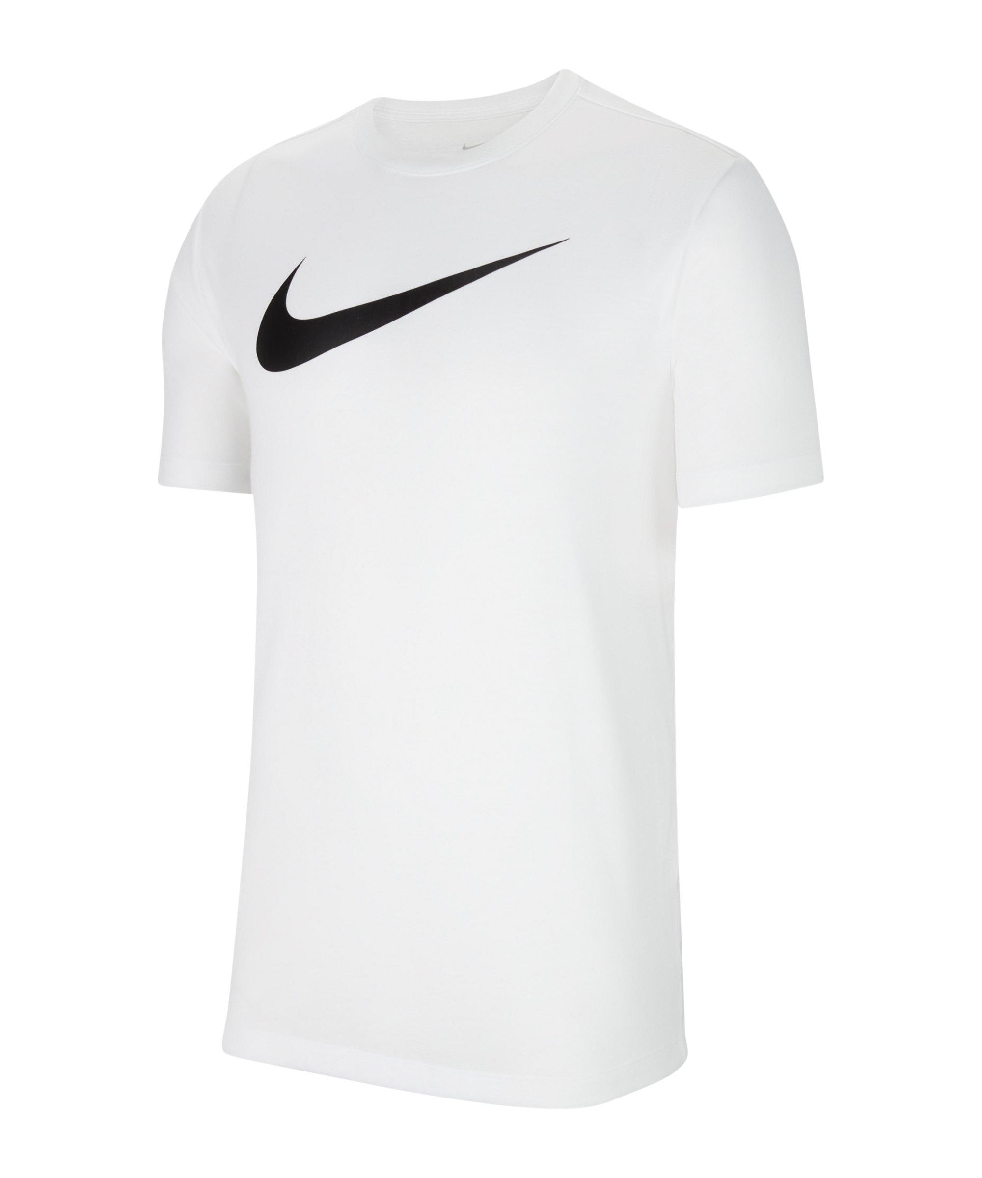 Nike Park 20 Swoosh T-Shirt Kids Weiss F100 - weiss
