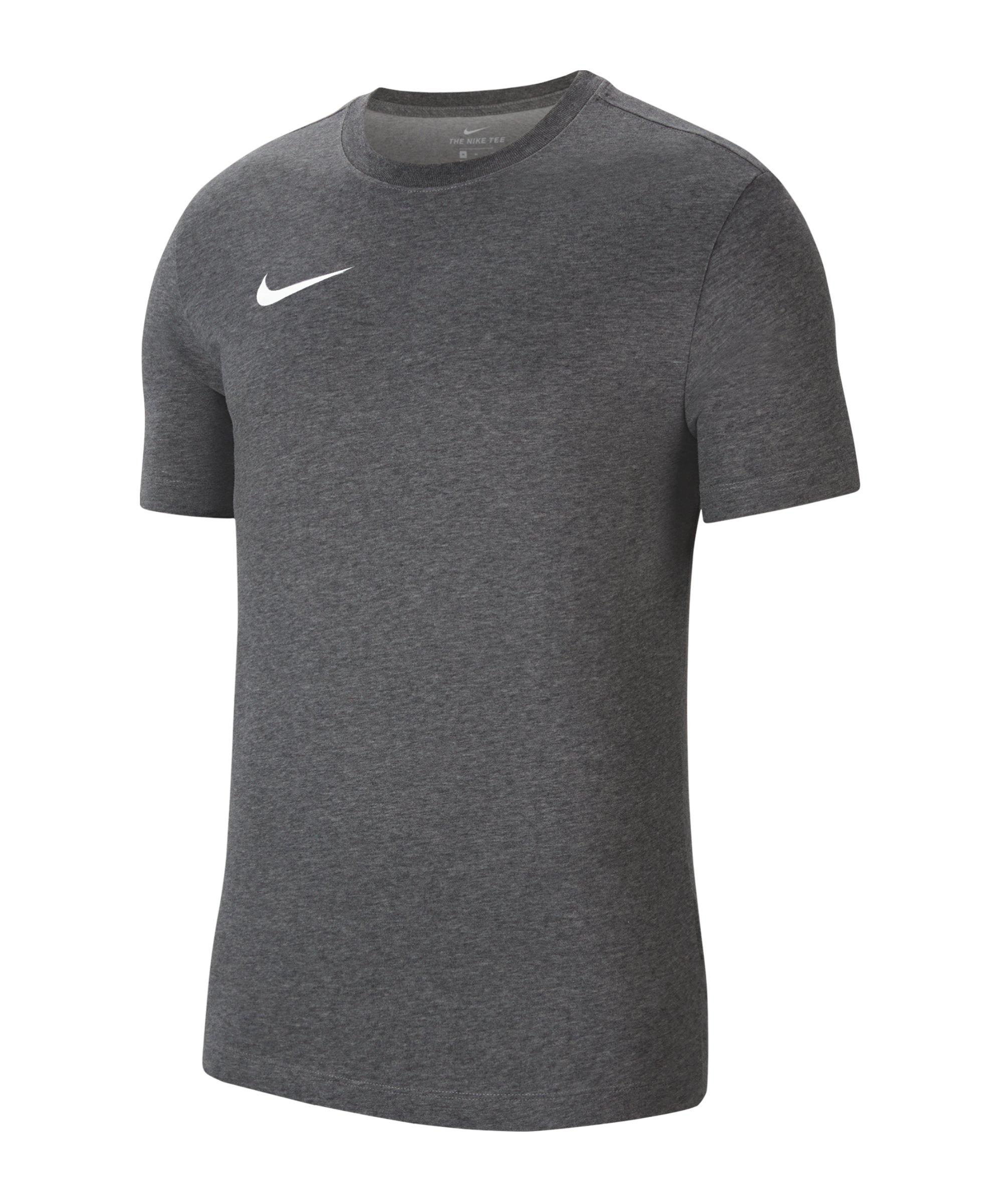 Nike Park 20 Dry T-Shirt Grau Weiss F071 - grau