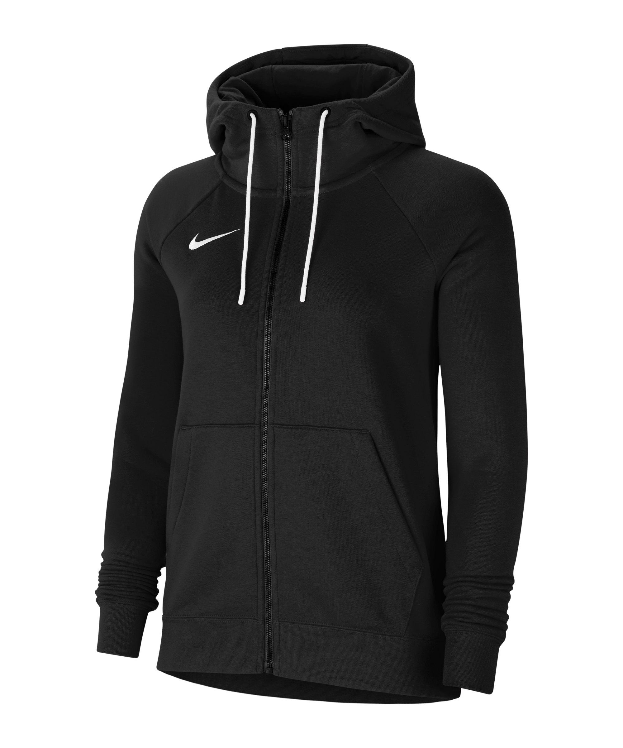 Nike Park 20 Fleece Kapuzenjacke Damen F010 - schwarz