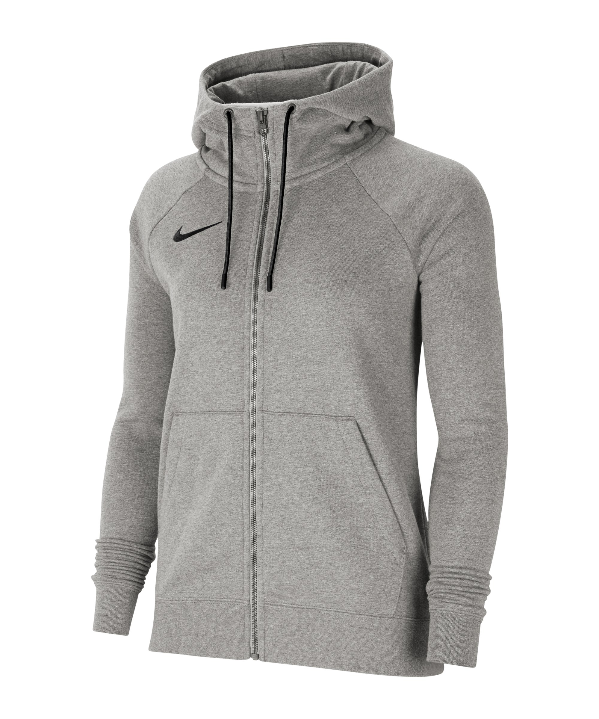 Nike Park 20 Fleece Kapuzenjacke Damen Grau F063 - grau
