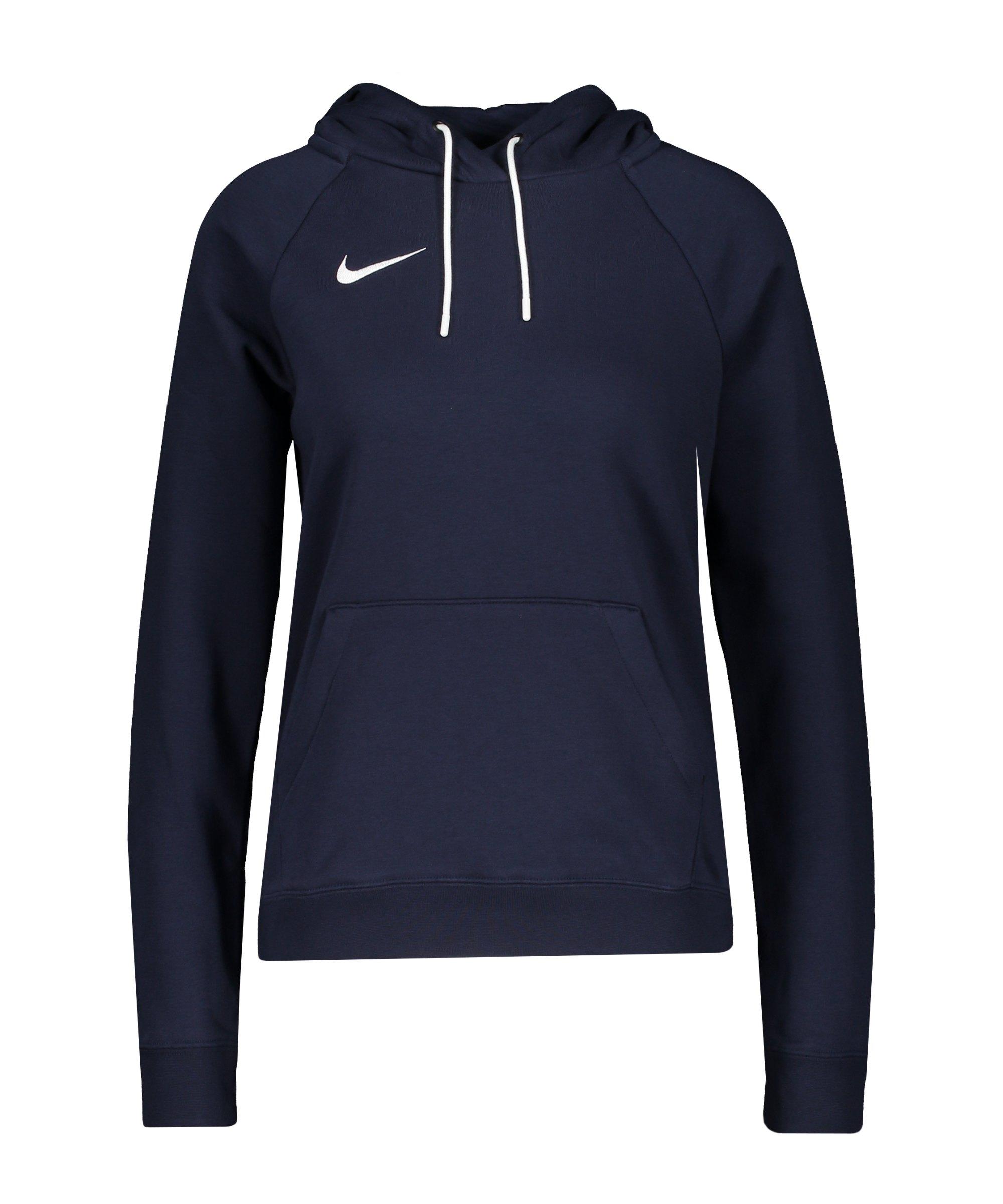 Nike Park 20 Fleece Hoody Damen Blau Weiss F451 - blau