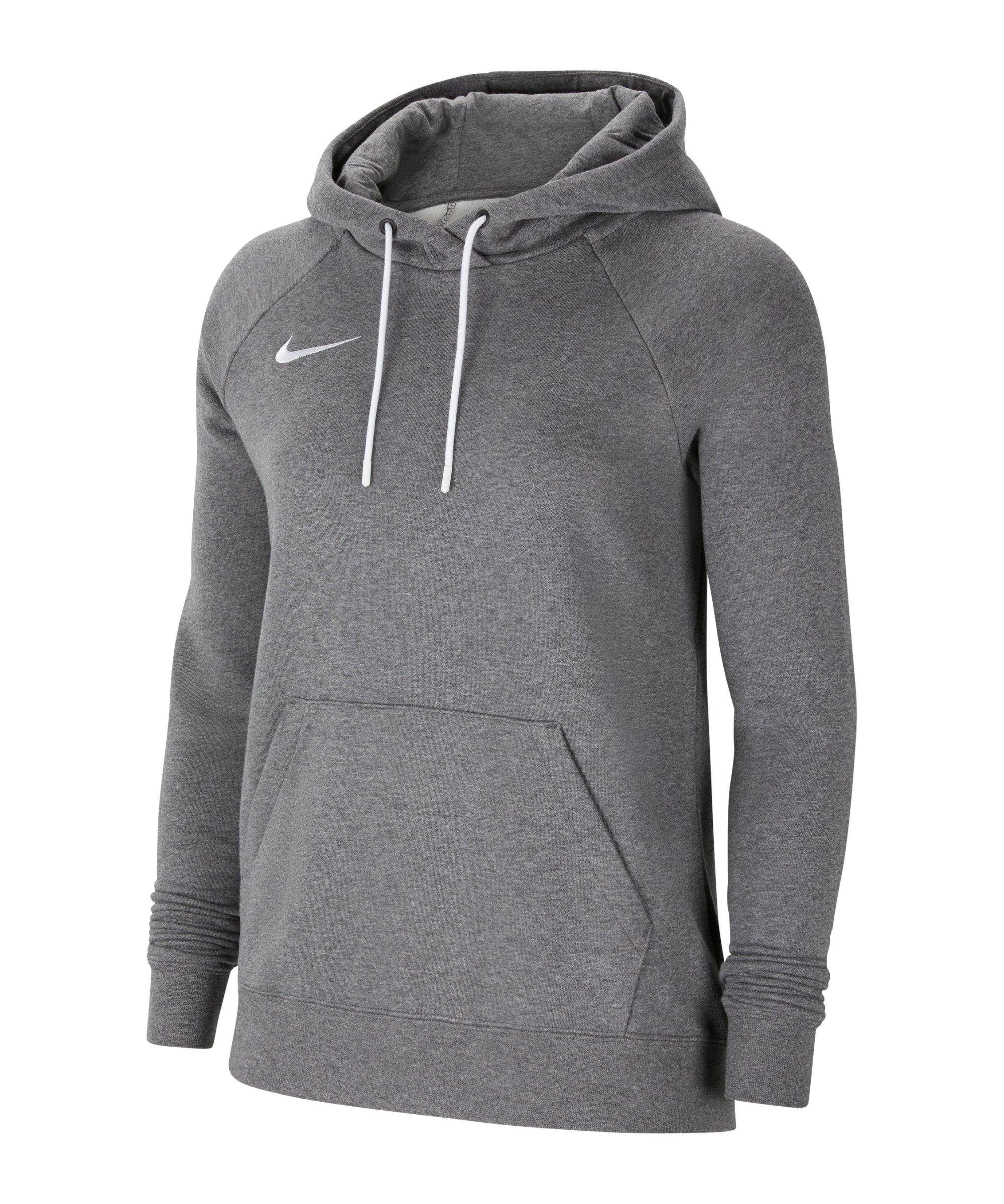 Nike Park 20 Fleece Hoody Damen Grau F071 - grau