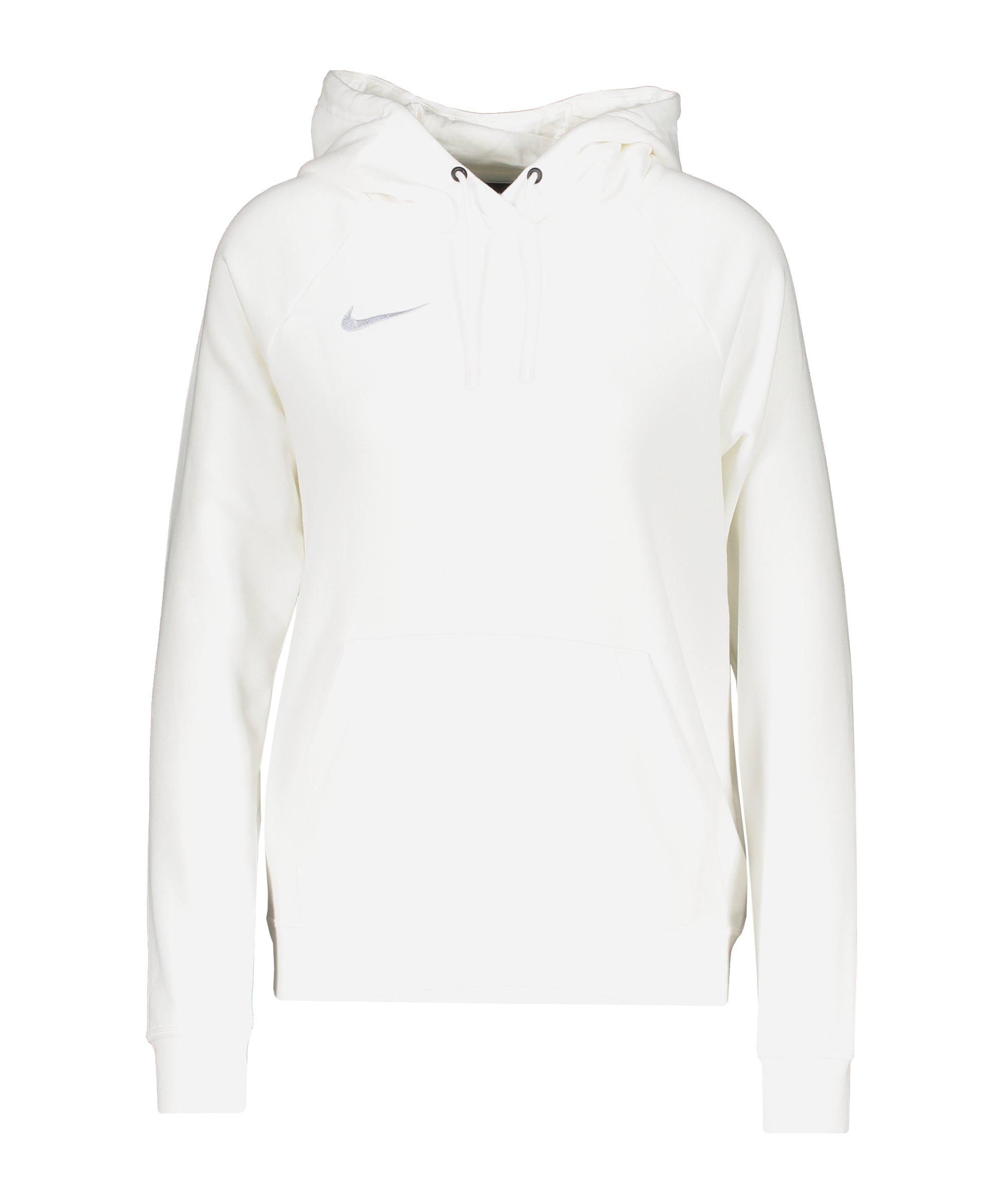 Nike Park 20 Fleece Hoody Damen Weiss F101 - weiss