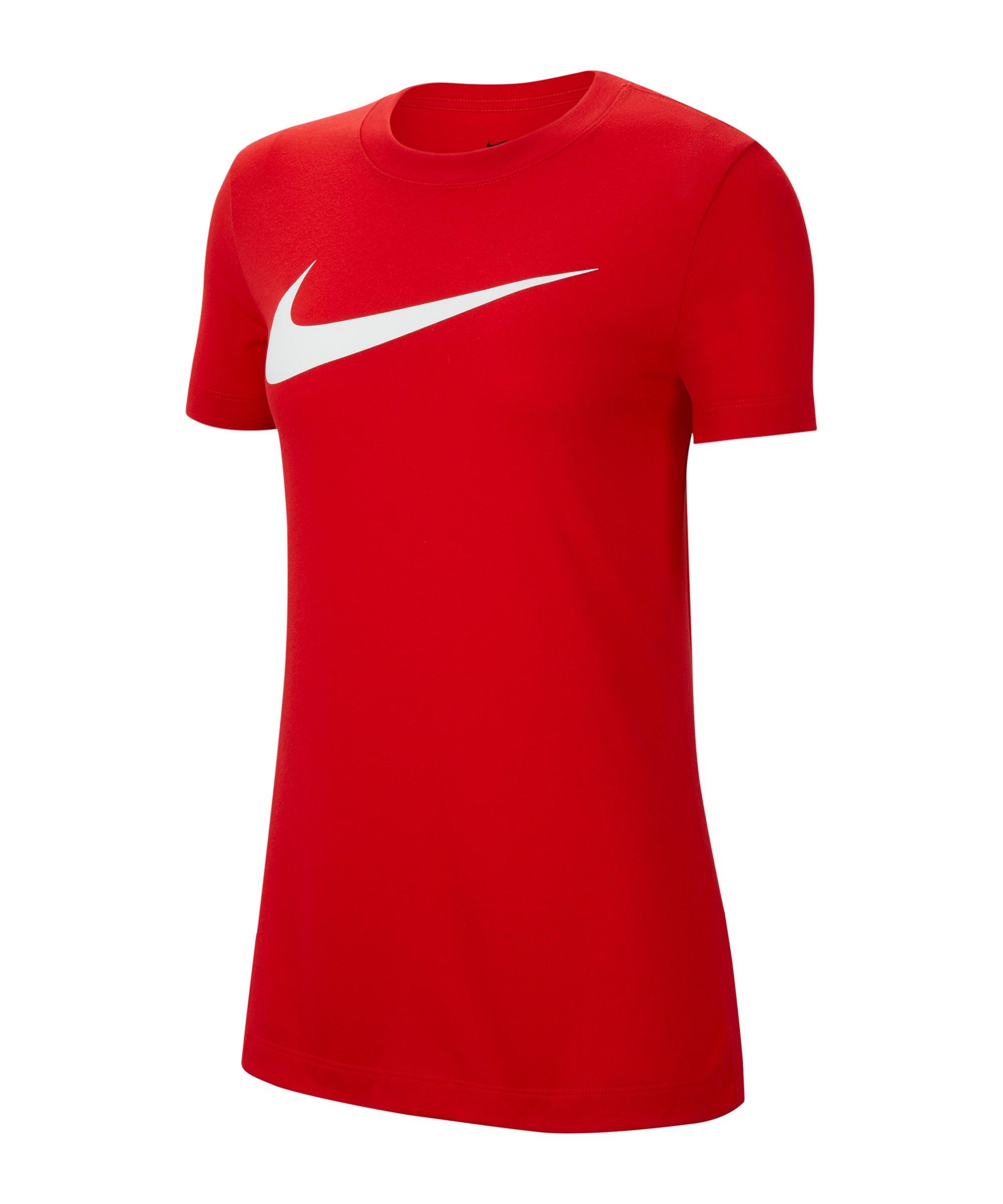 Nike Park 20 T-Shirt Swoosh Damen Rot F657 - rot