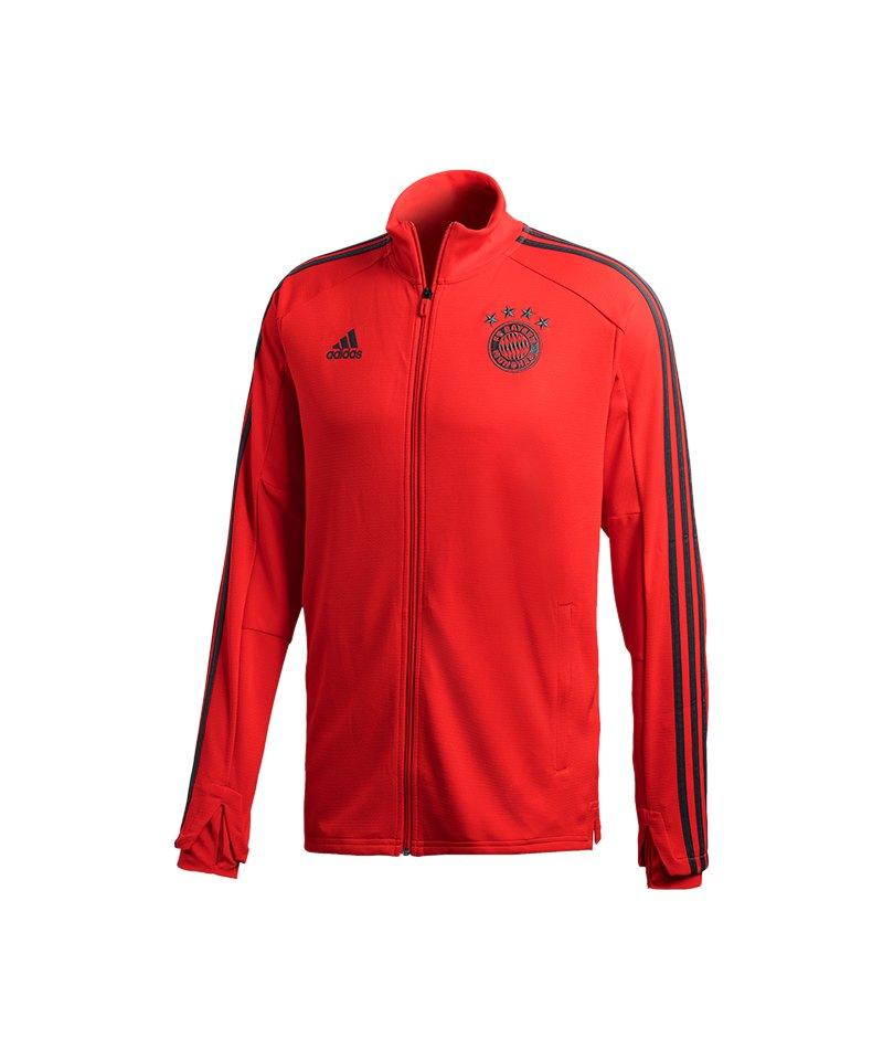 adidas FC Bayern München Training Jacket Rot - rot