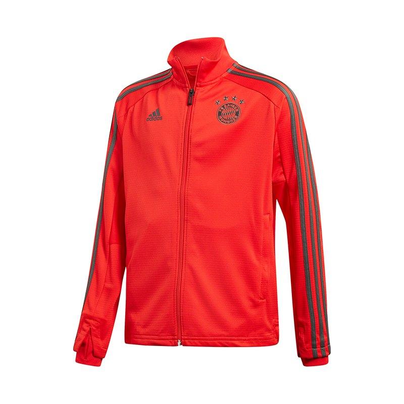 adidas FC Bayern München Training Jacket Kids Rot - rot