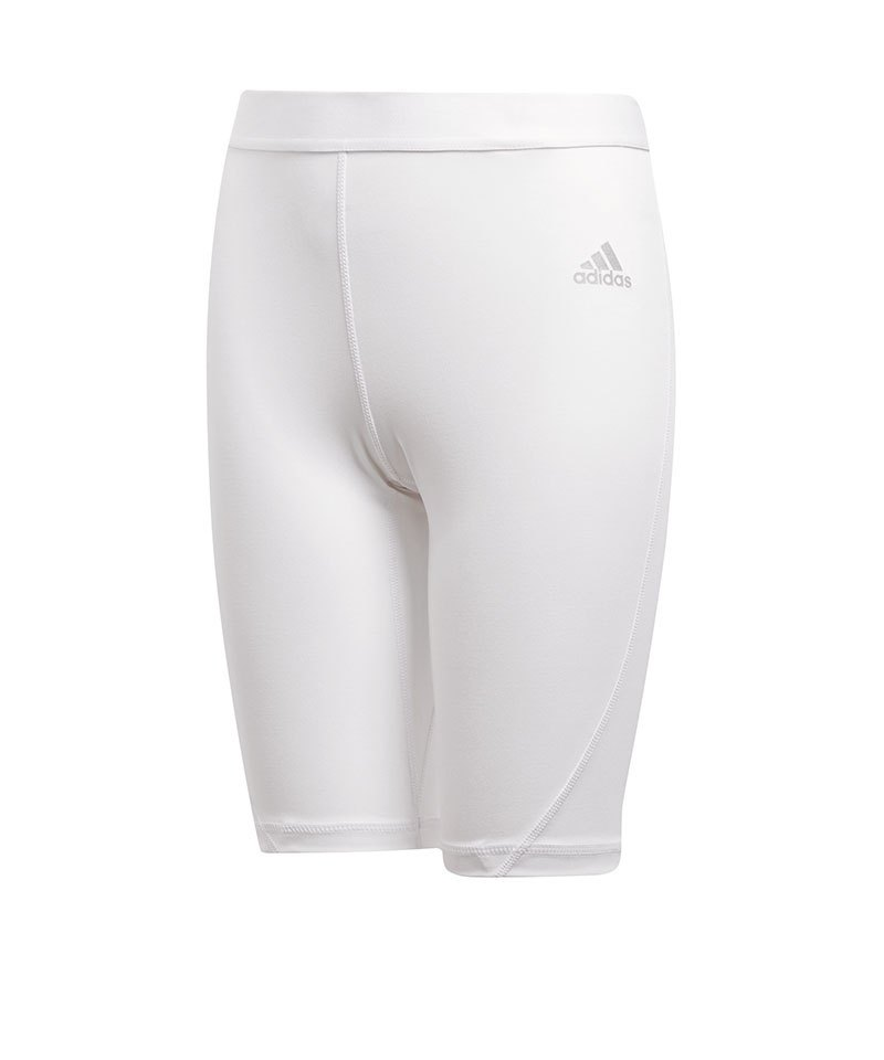 adidas Alphaskin Short Kids Weiss - weiss