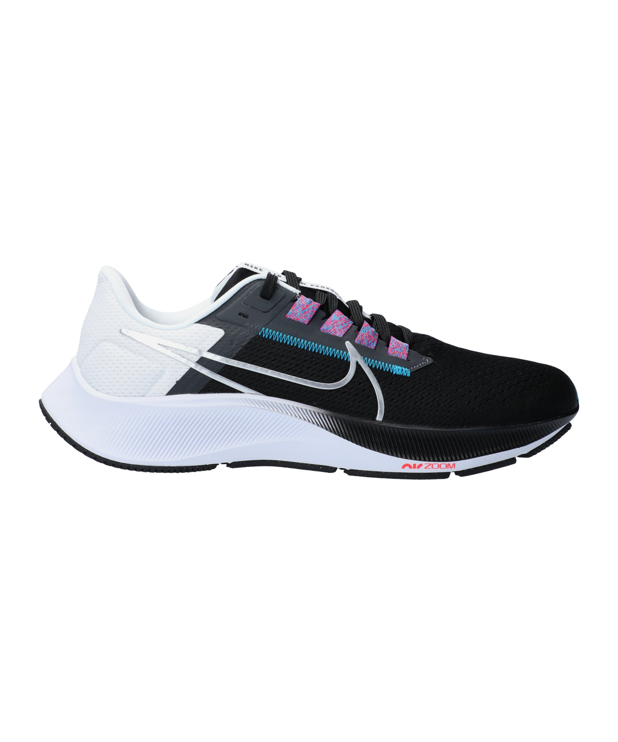 Nike Air Zoom Pegasus 38 Running Schwarz F003 - schwarz