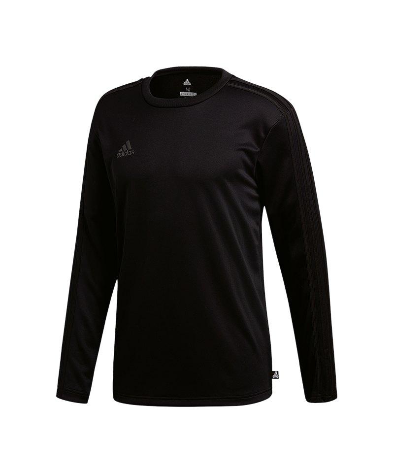 adidas Tango Terry Jersey Sweatshirt Schwarz - schwarz