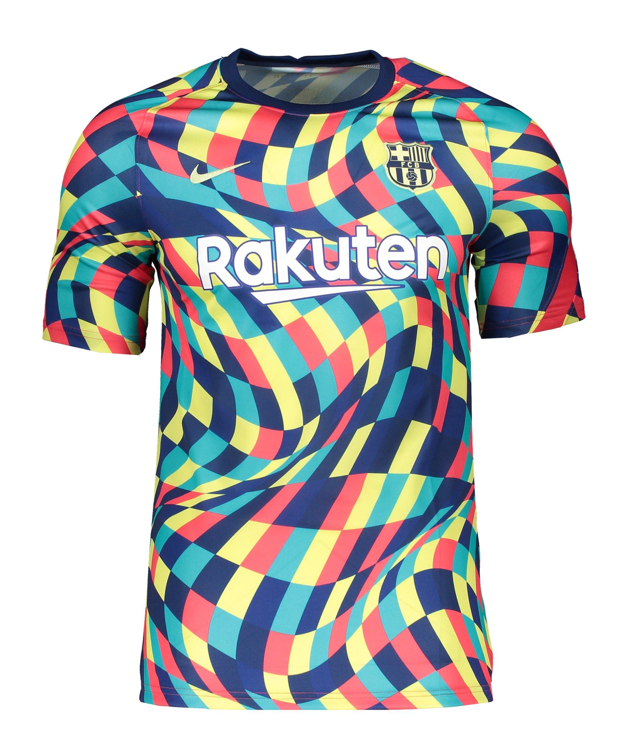 Nike FC Barcelona Prematch Shirt 2020/2021 Blau F492 - blau