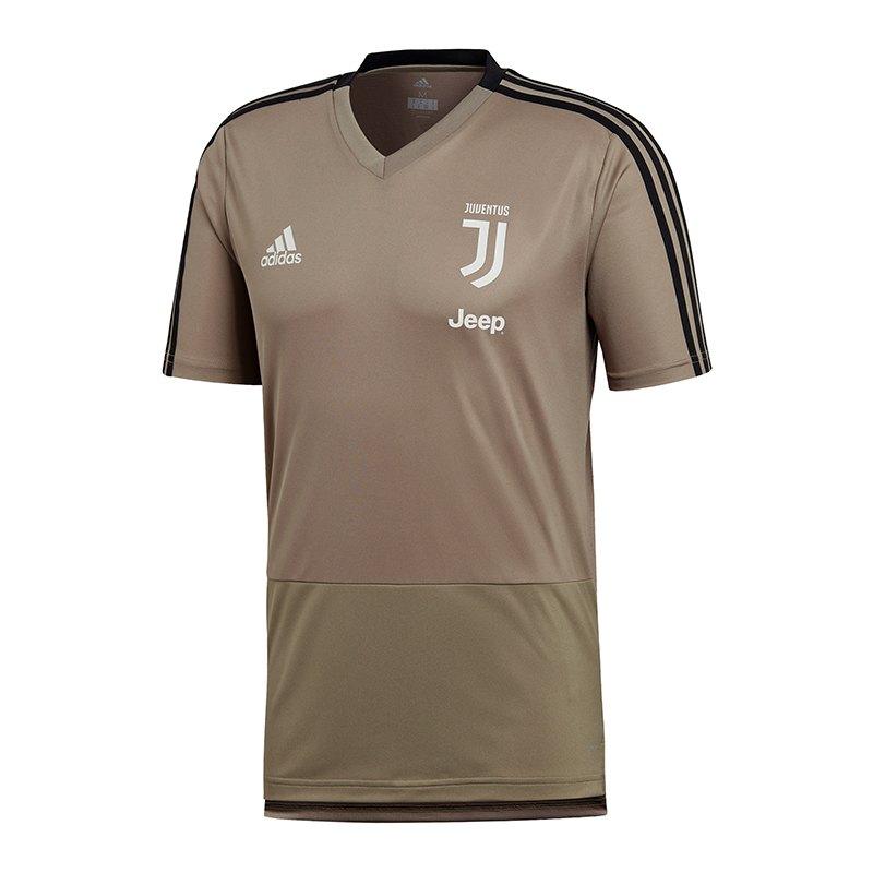 adidas FC Juventus Turin Trainingshirt Grau - grau