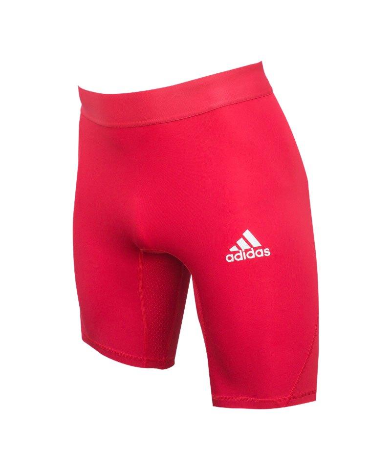adidas Alphaskin Sport Short Rot - rot
