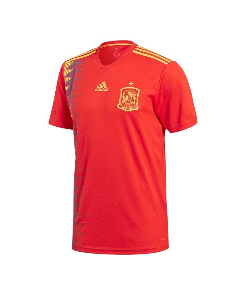 adidas Spanien Trikot Home WM 2018 Rot - rot