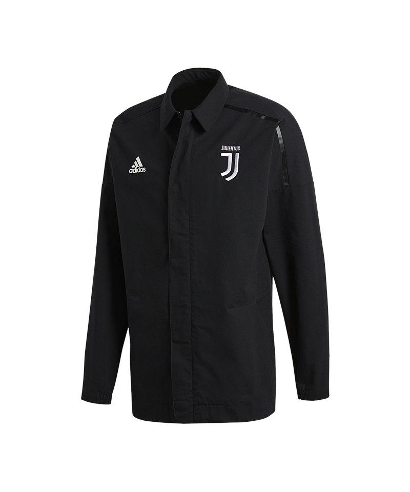 adidas Juventus Turin Z.N.E. Jacket Woven Schwarz - schwarz