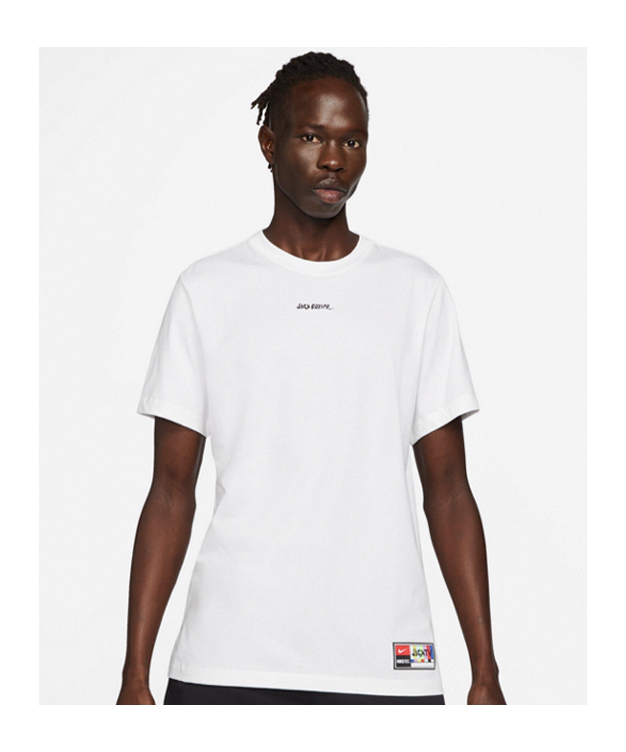 Nike F.C. LBR Joga Bonito T-Shirt Weiss F100 - weiss