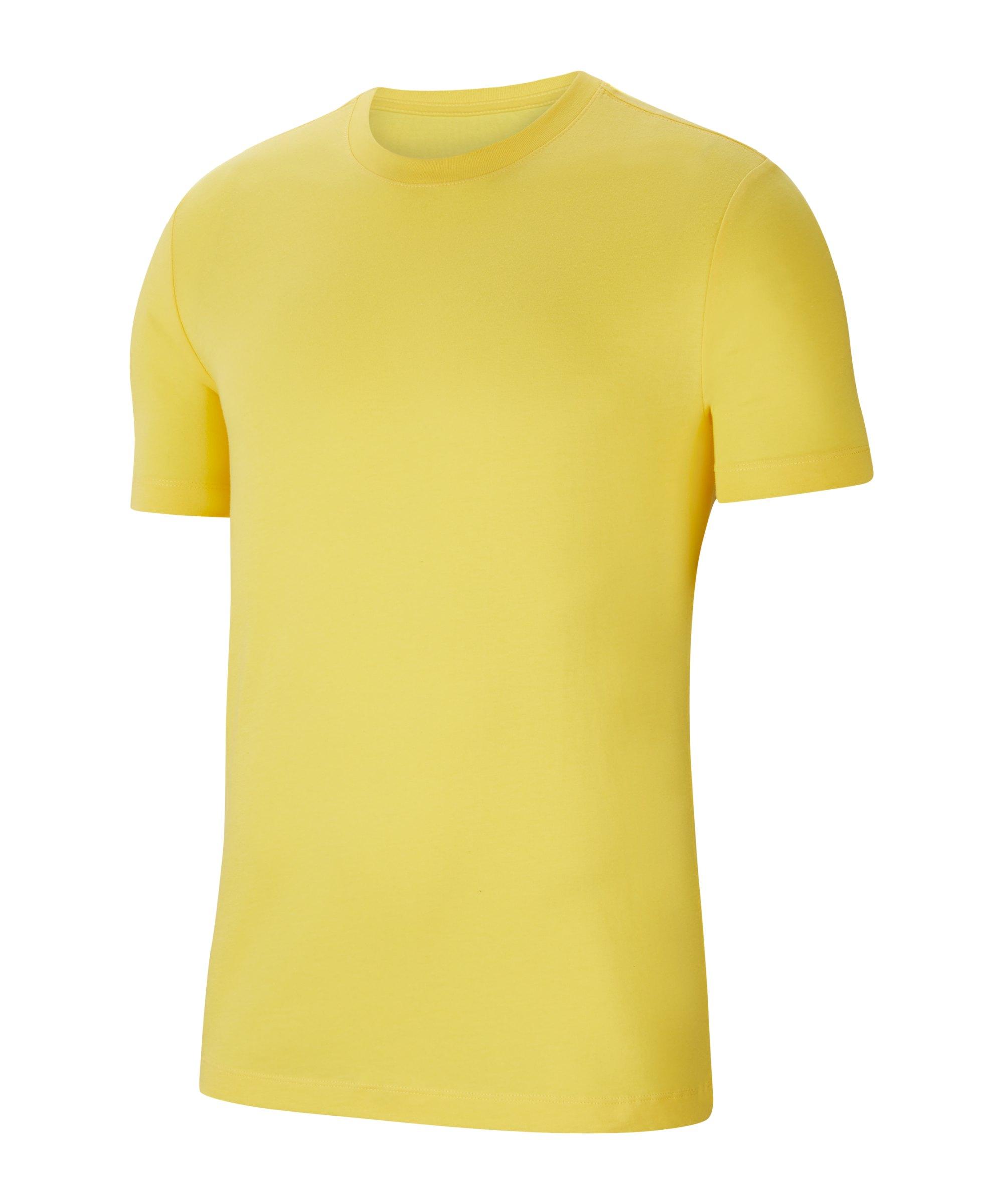 Nike Park 20 T-Shirt Gelb Schwarz F719 - gelb