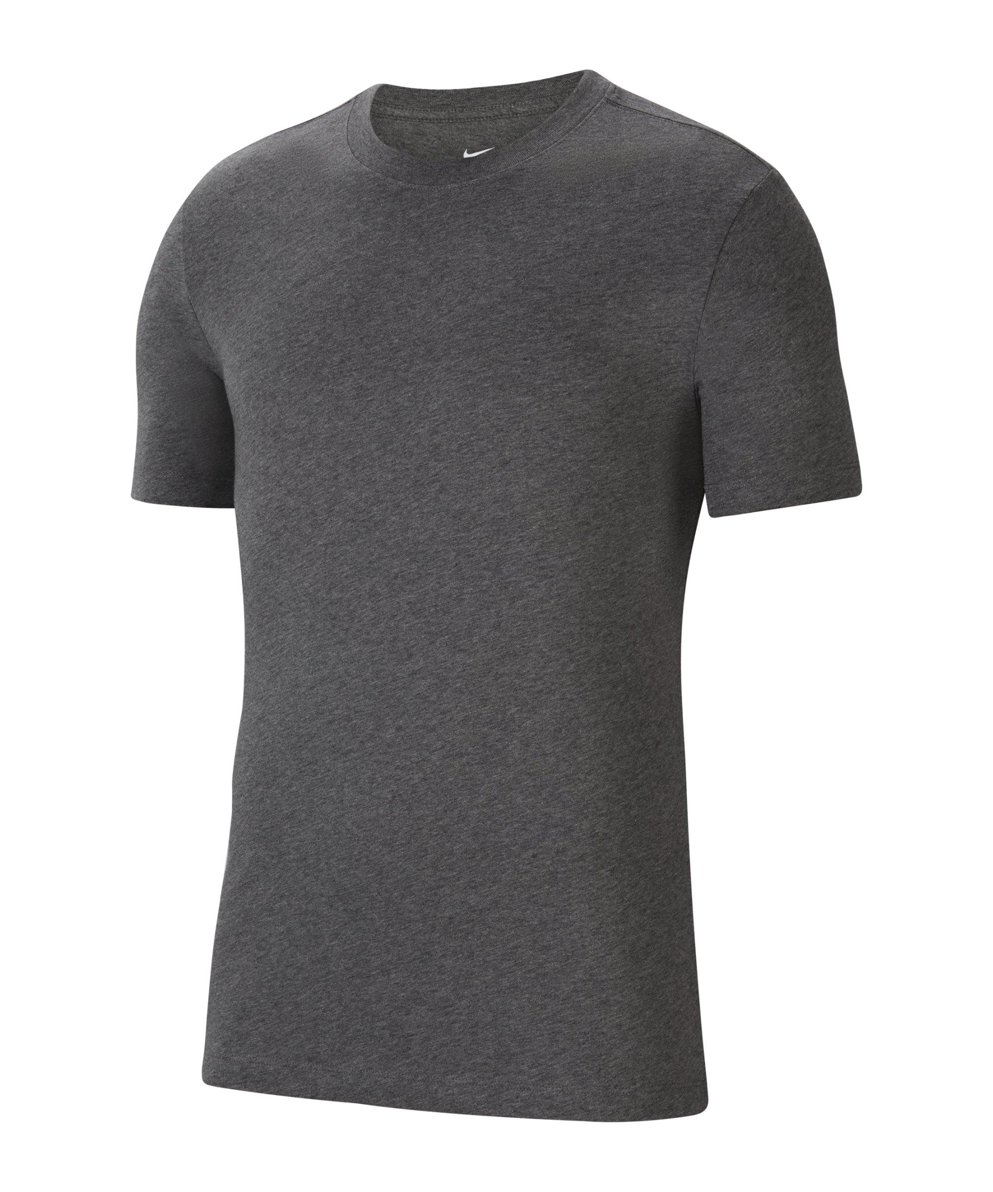 Nike Park 20 T-Shirt Grau Weiss F071 - grau