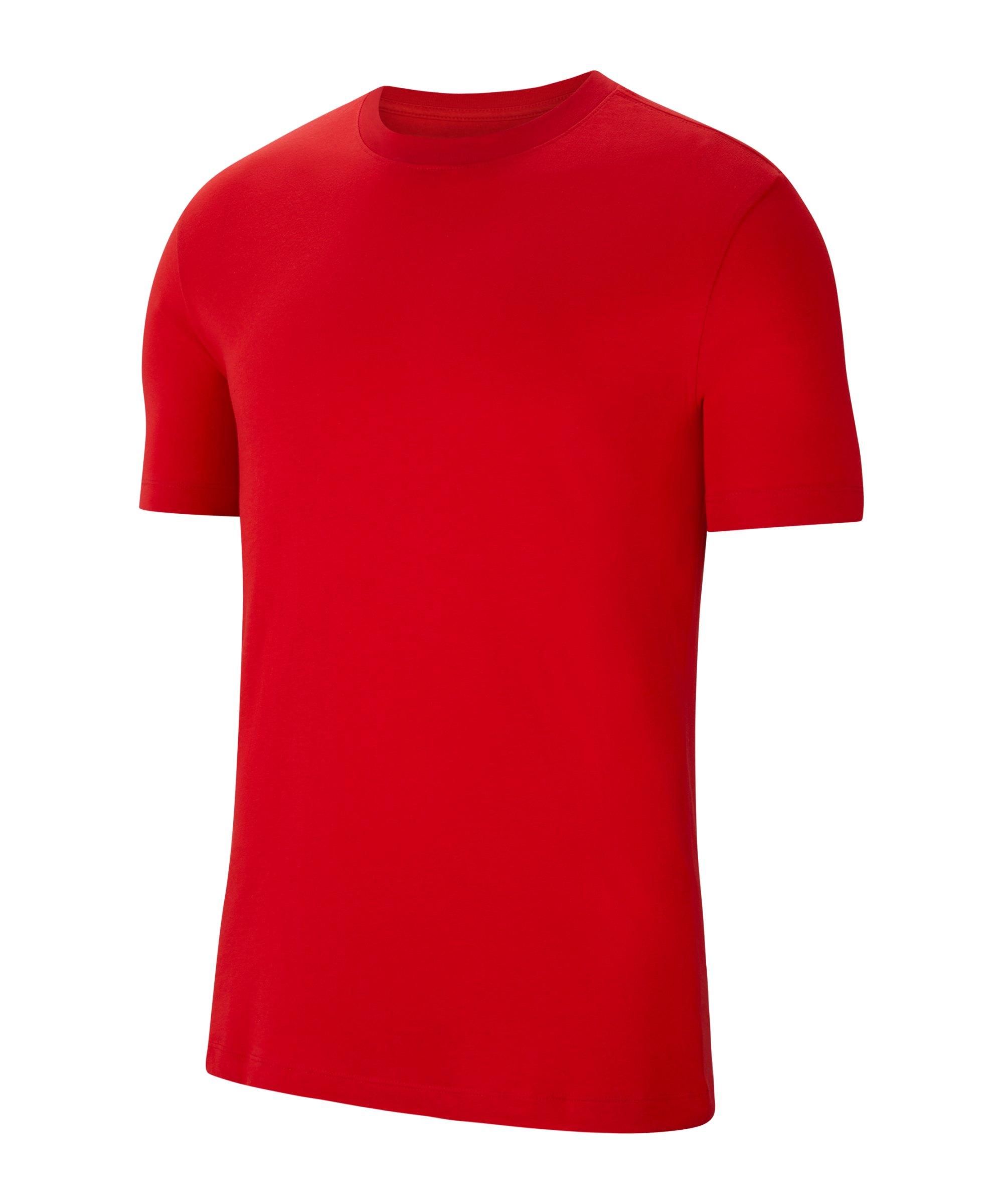 Nike Park 20 T-Shirt Rot Weiss F657 - rot