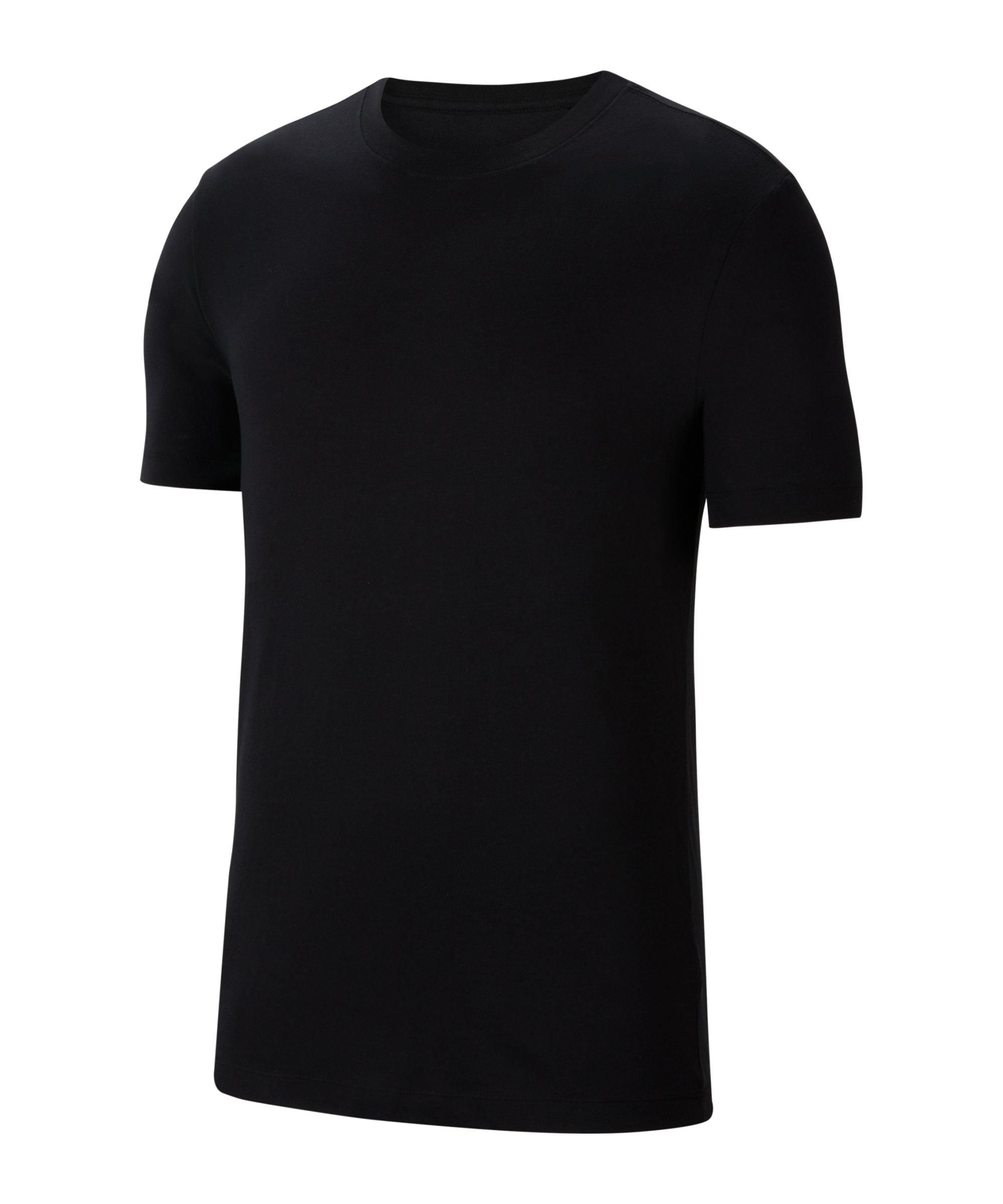 Nike Park 20 T-Shirt Schwarz Weiss F010 - schwarz