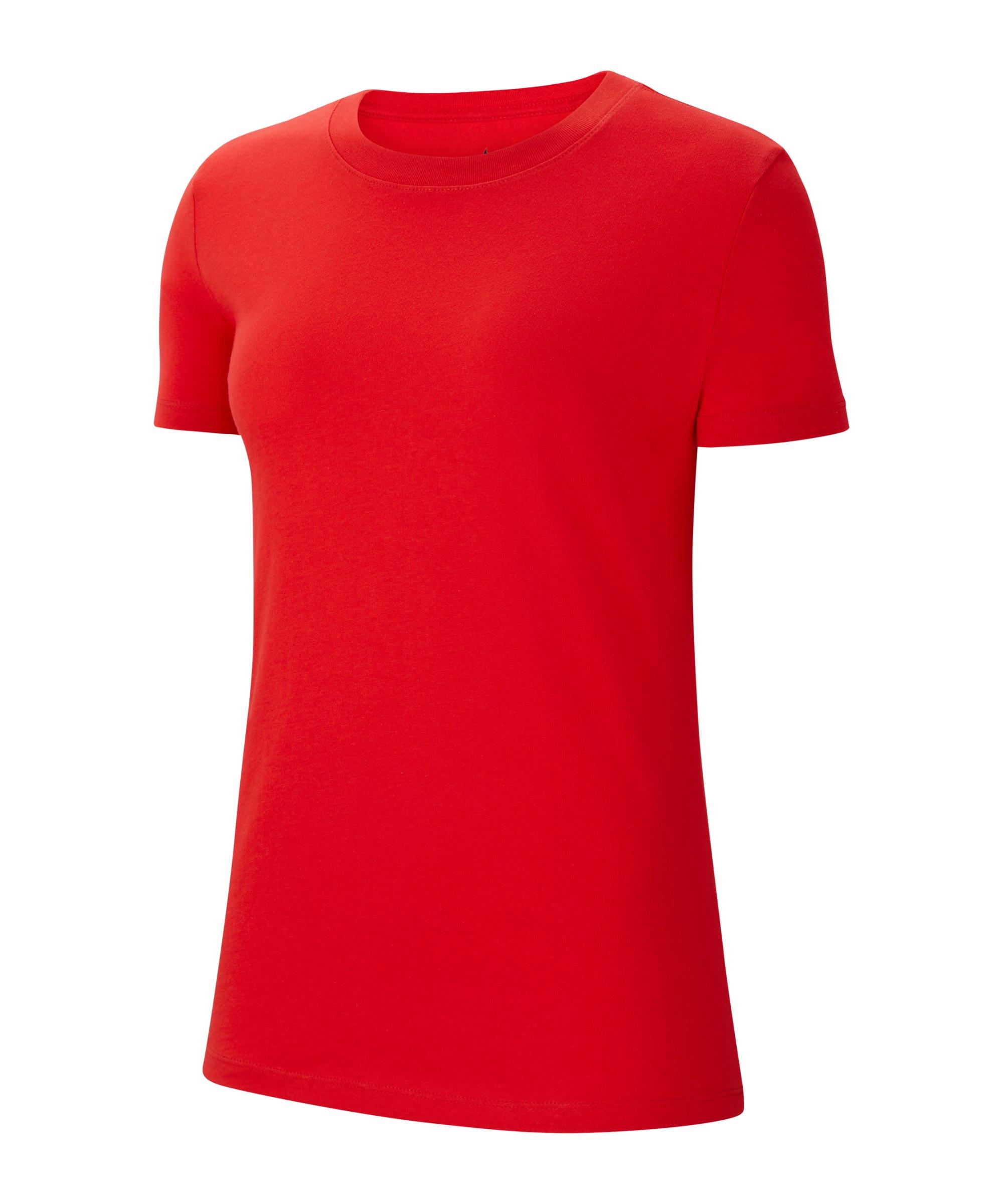 Nike Park 20 T-Shirt Damen Rot Weiss F657 - rot