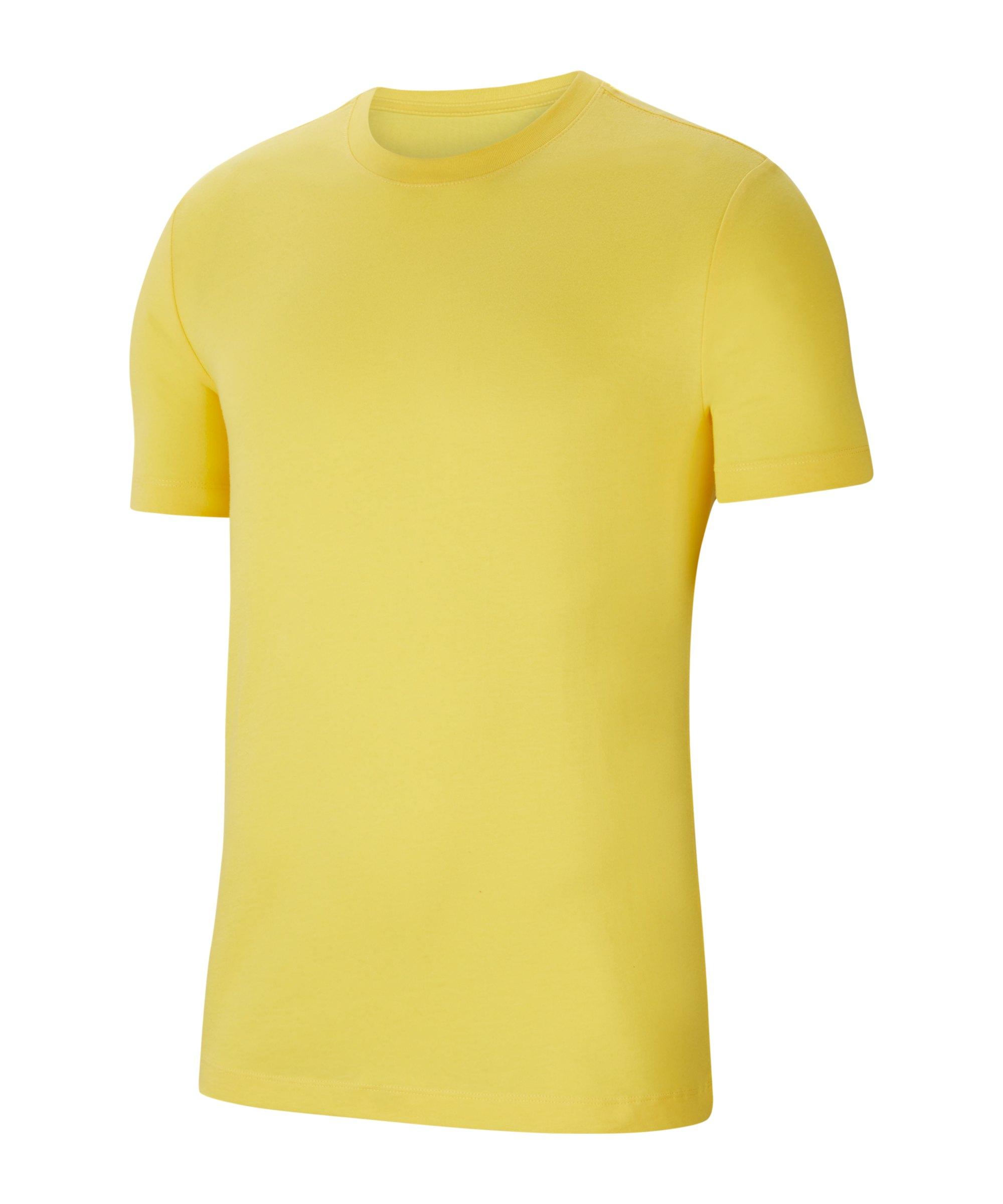 Nike Park 20 T-Shirt Kids Gelb Schwarz F719 - gelb