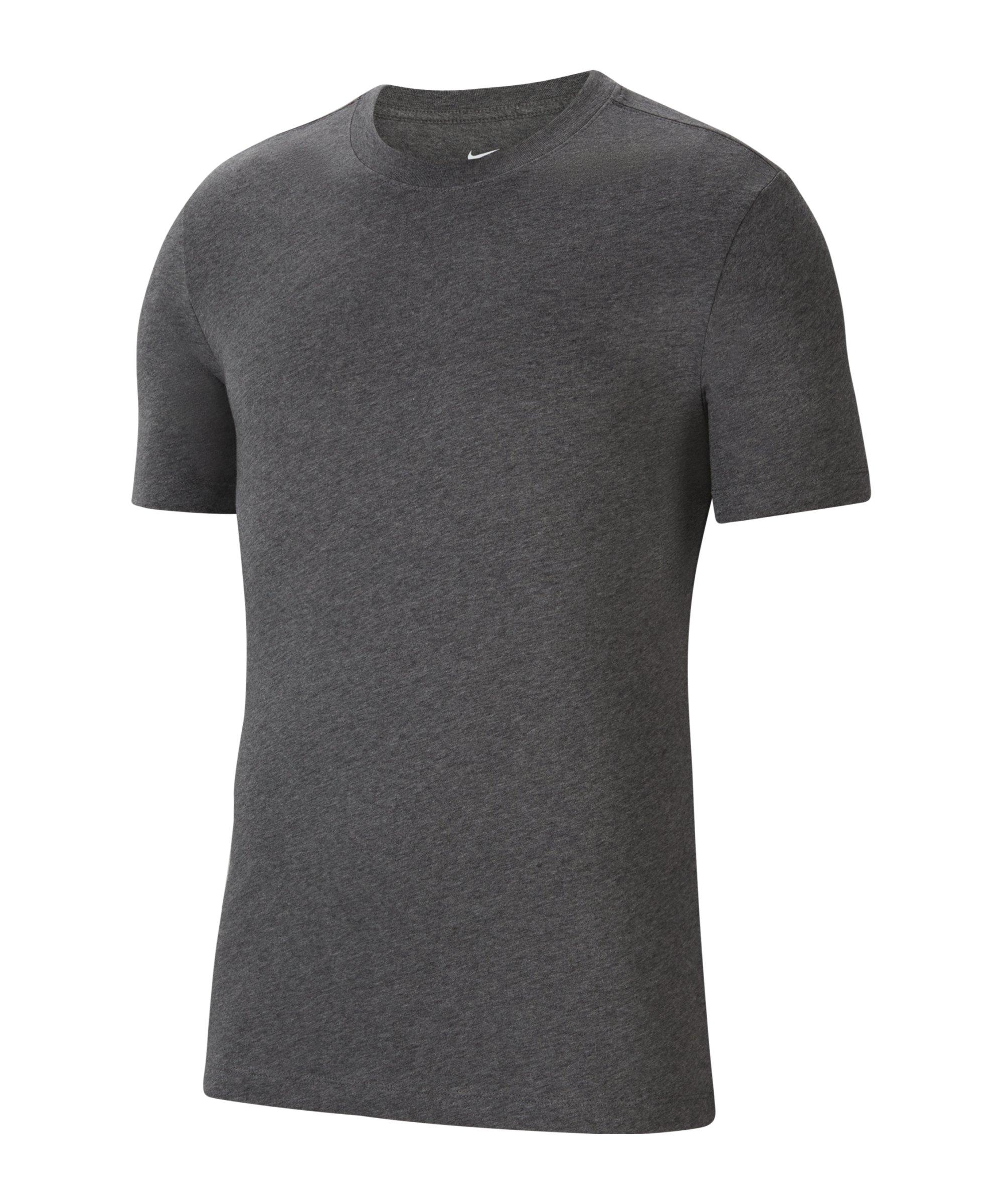 Nike Park 20 T-Shirt Kids Grau Weiss F071 - grau