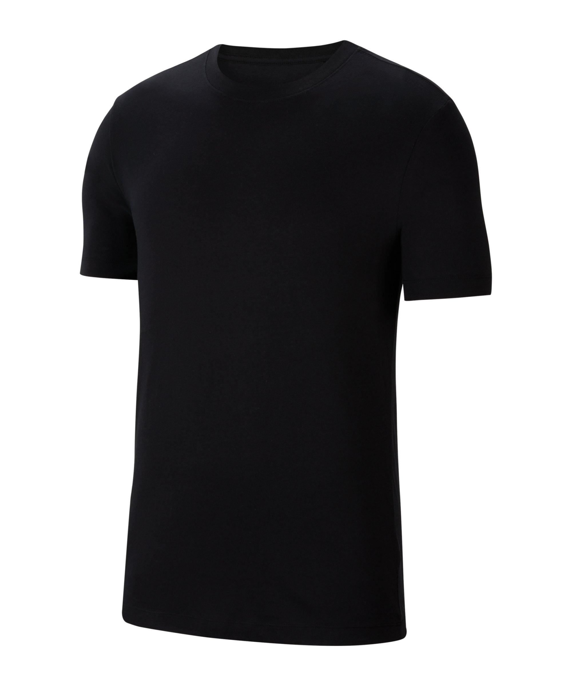 Nike Park 20 T-Shirt Kids Schwarz Weiss F010 - schwarz