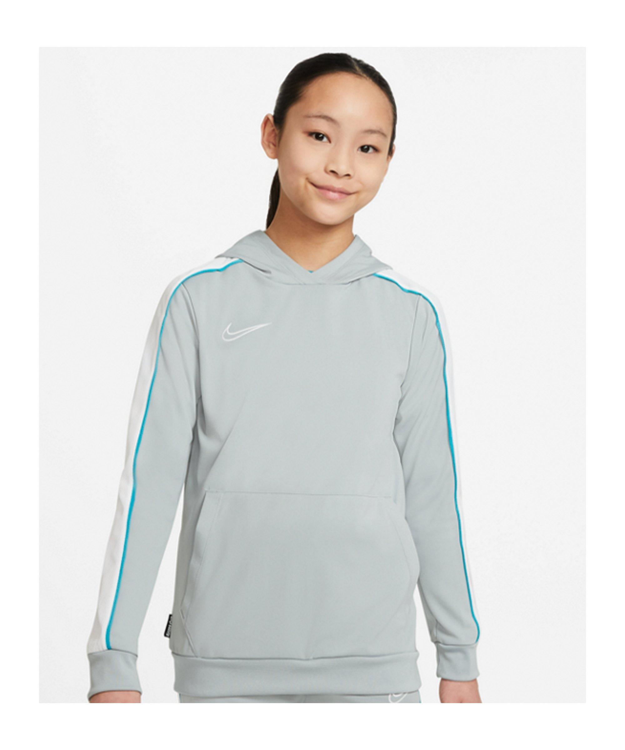 Nike Academy Dri-FIT Hoody Joga Bonito Kids F019 - grau