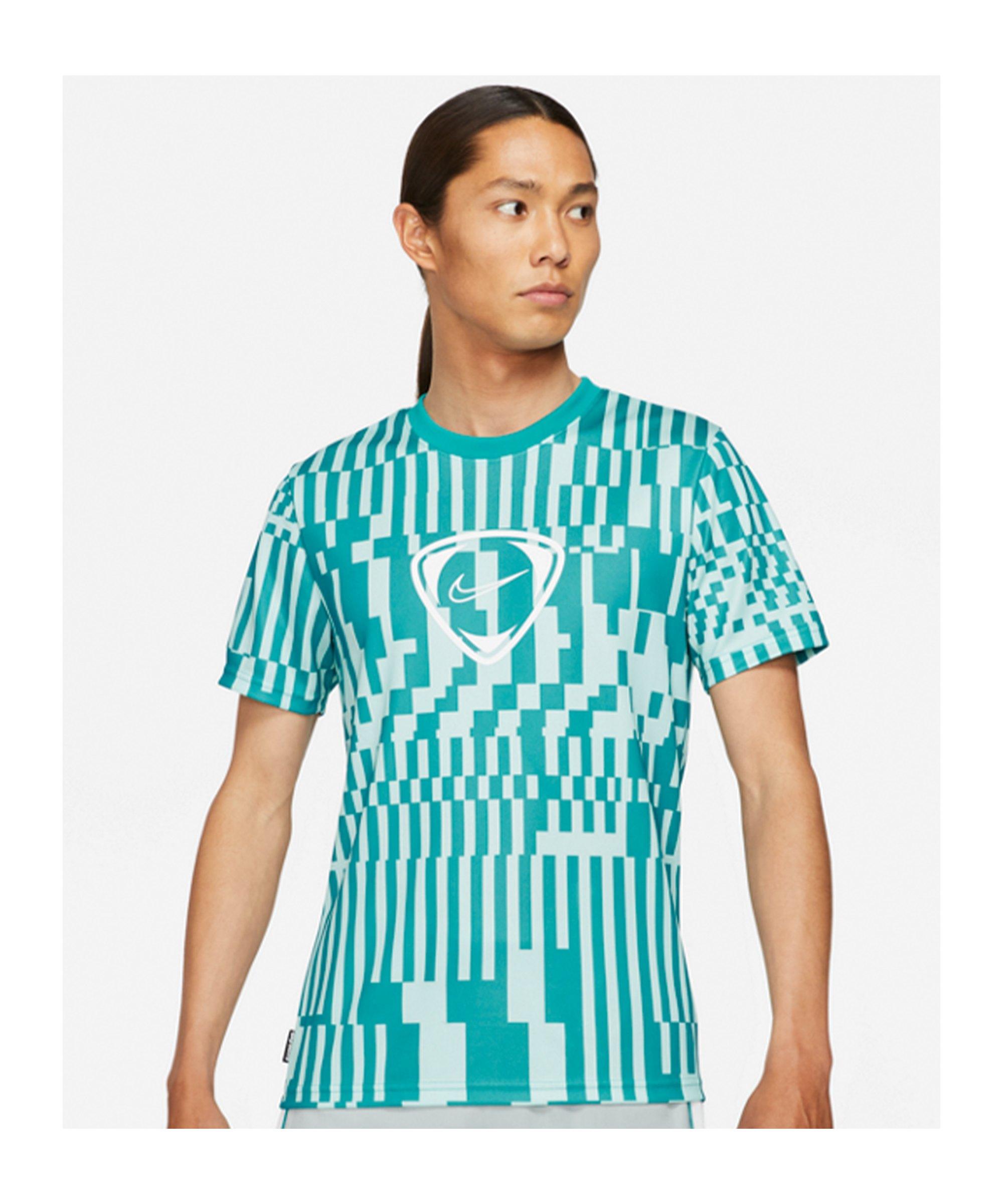 Nike Academy Dri-FIT T-Shirt Joga Bonito F382 - tuerkis