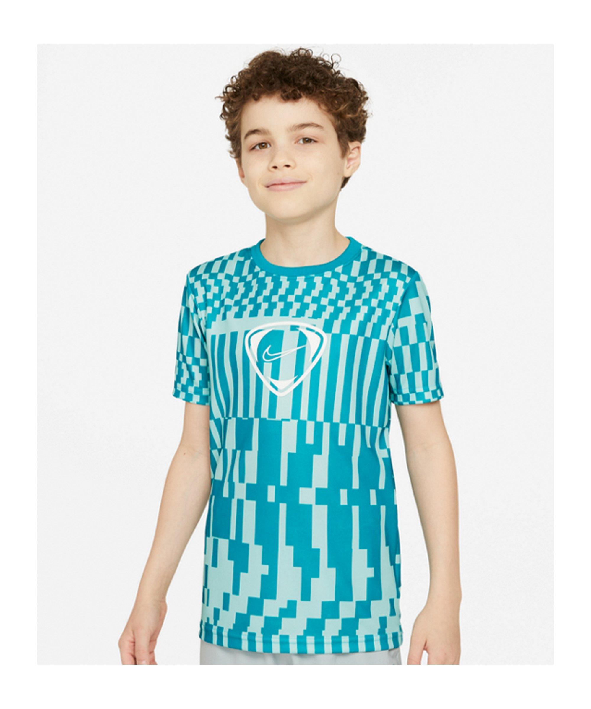 Nike Academy Dri-FIT T-Shirt Joga Bonito Kids F382 - tuerkis