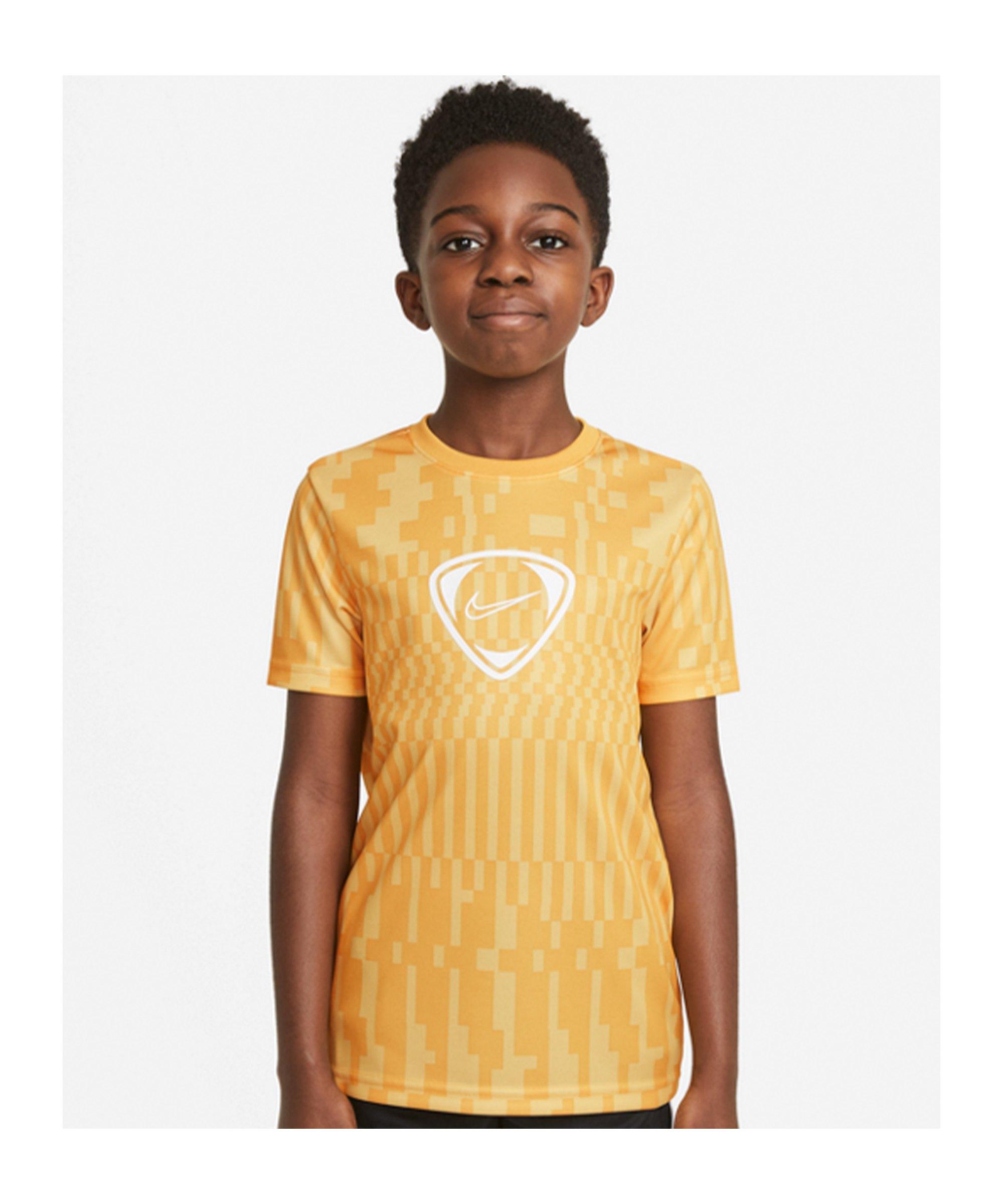 Nike Academy Dri-FIT T-Shirt Joga Bonito Kids F700 - gelb