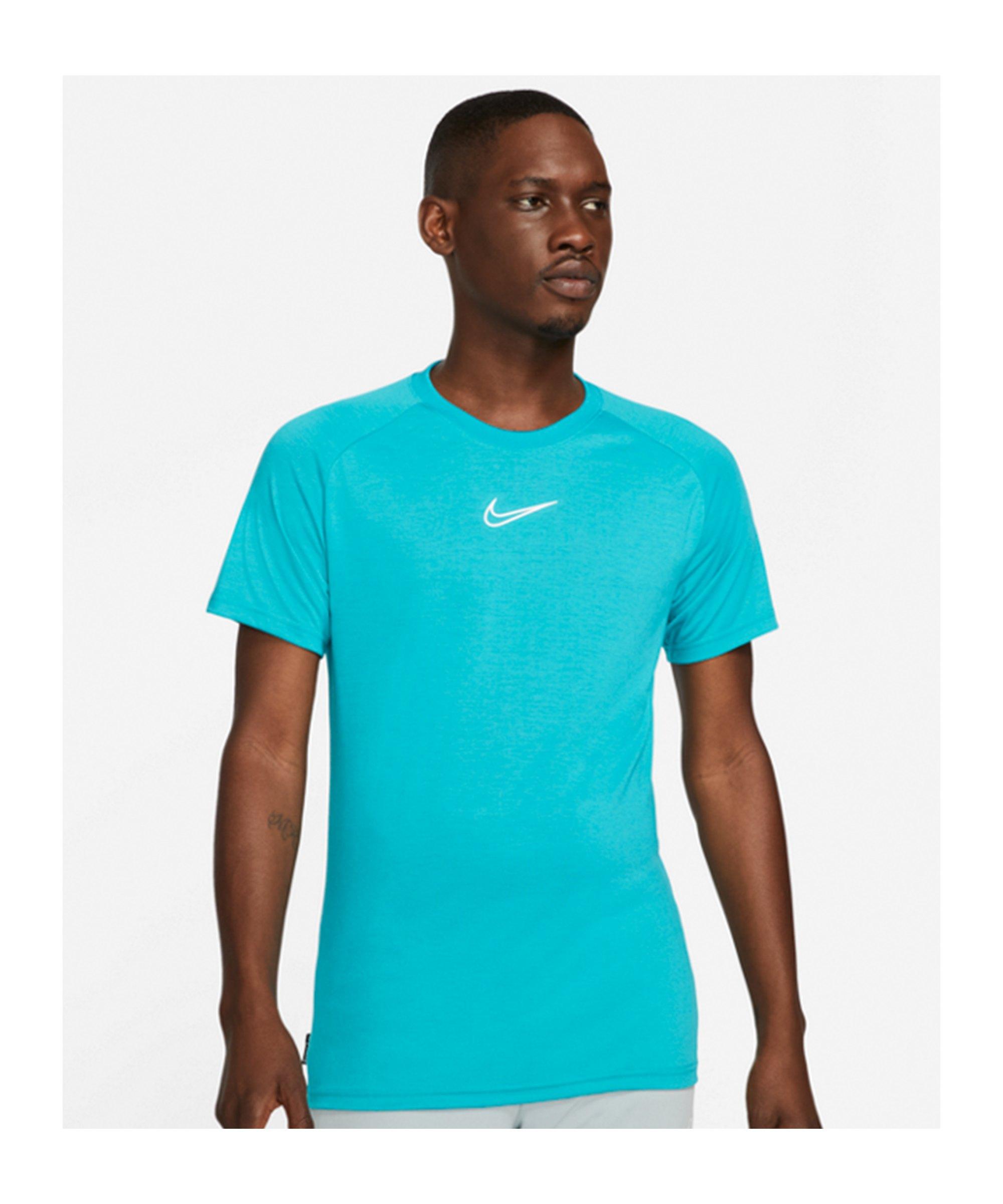 Nike Academy T-Shirt Summer Artist Türkis F356 - tuerkis