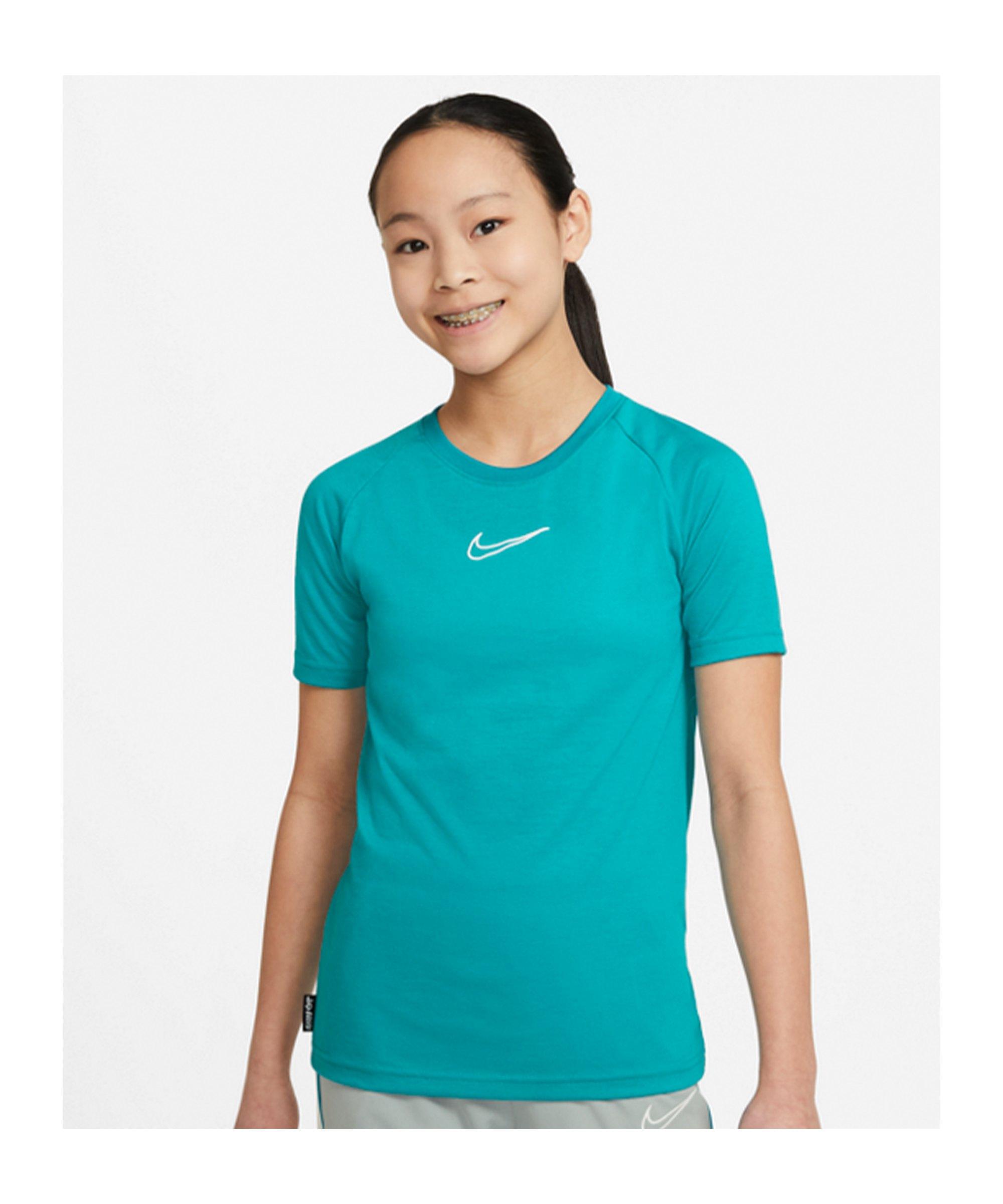 Nike Academy T-Shirt Joga Bonito Kids Türkis F356 - tuerkis