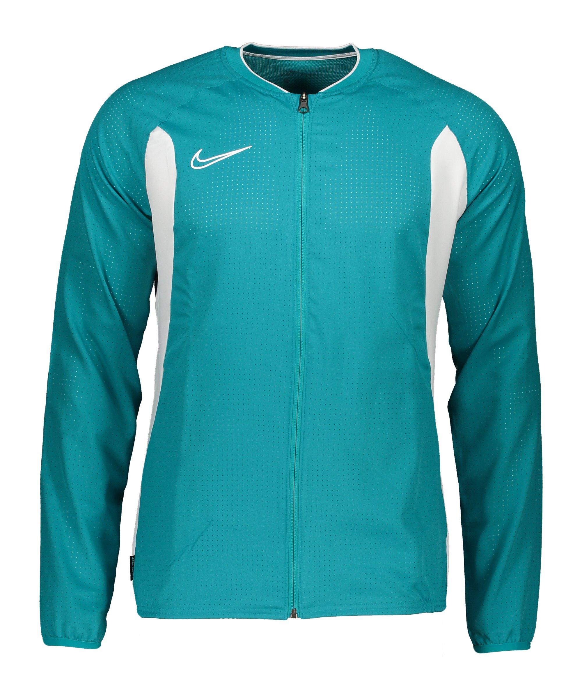 Nike Academy Dri-FIT Trainingsjacke Blau F356 - tuerkis