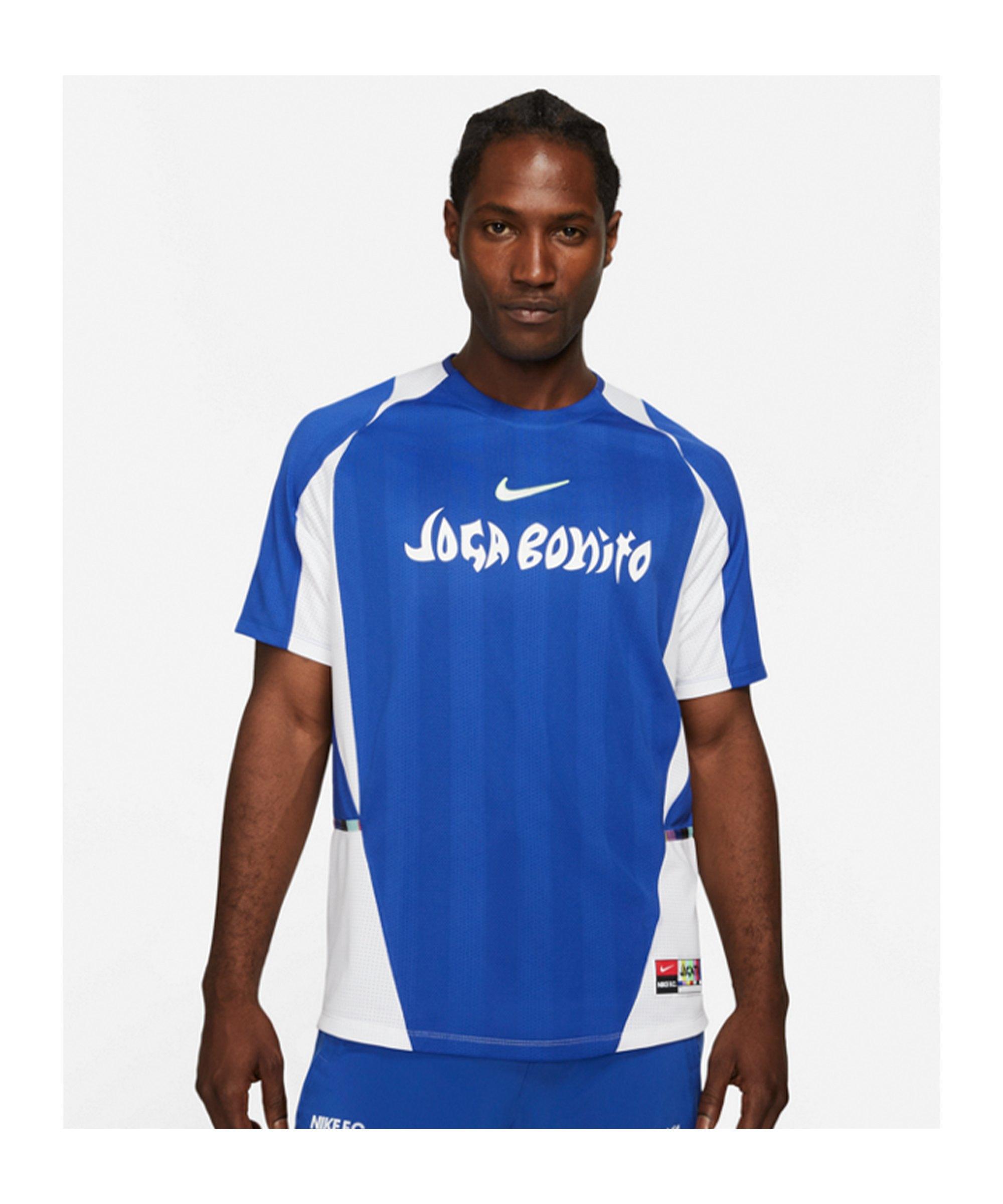 Nike F.C. Joga Bonito Home Jersey T-Shirt F480 - blau