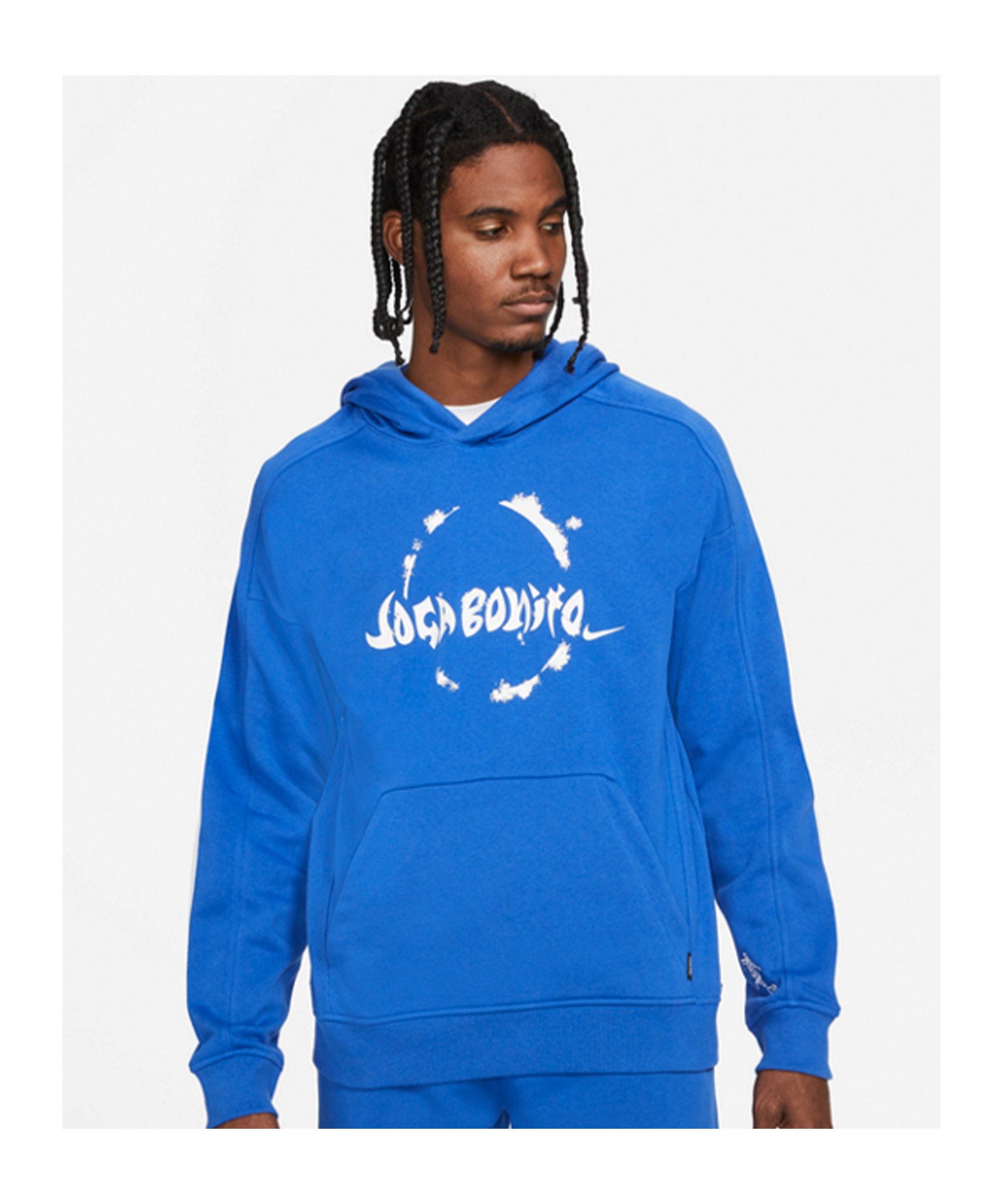 Nike F.C. Joga Bonito Hoody Blau F480 - blau