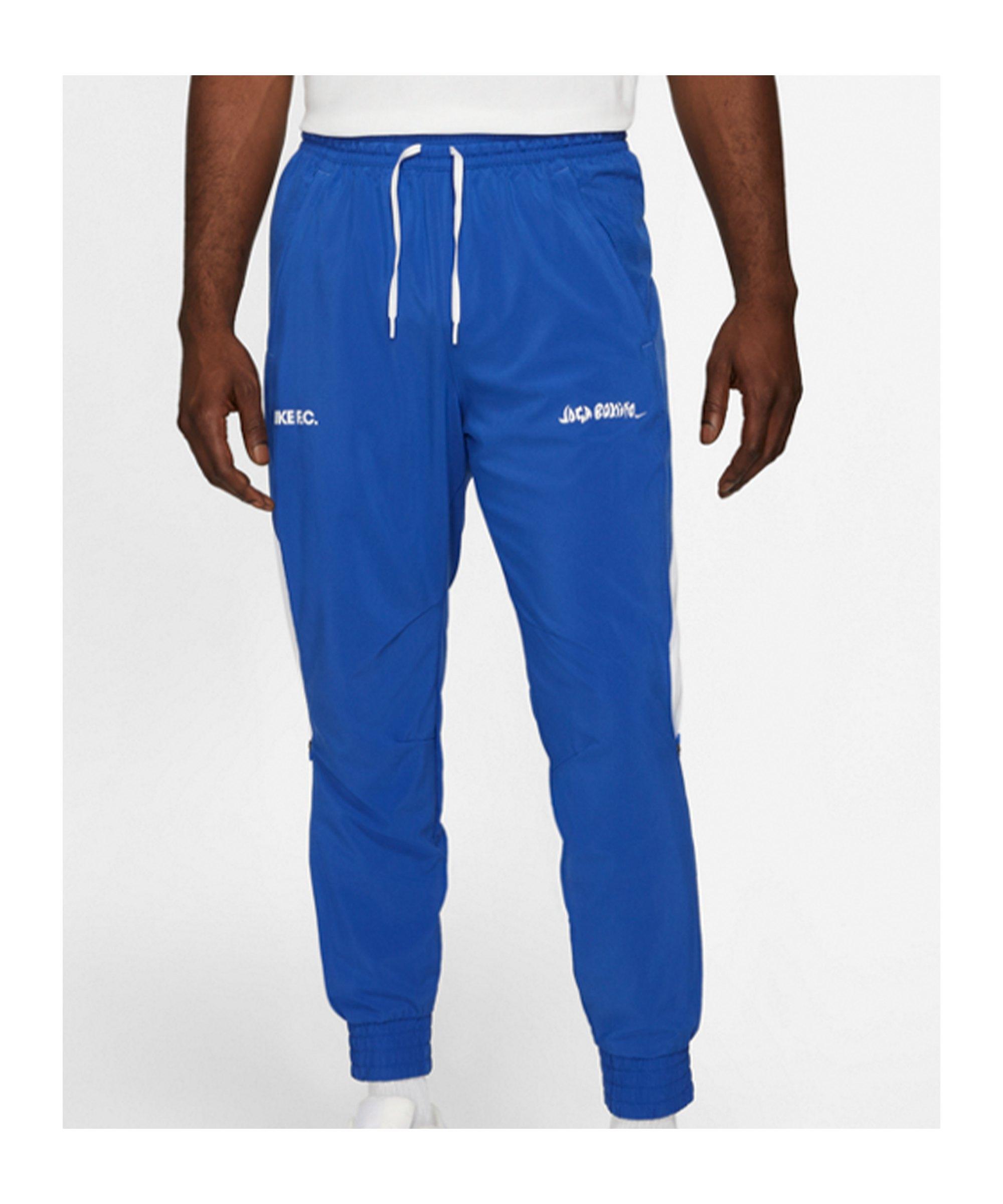 Nike F.C. Joga Bonito Woven Hose Blau F480 - blau