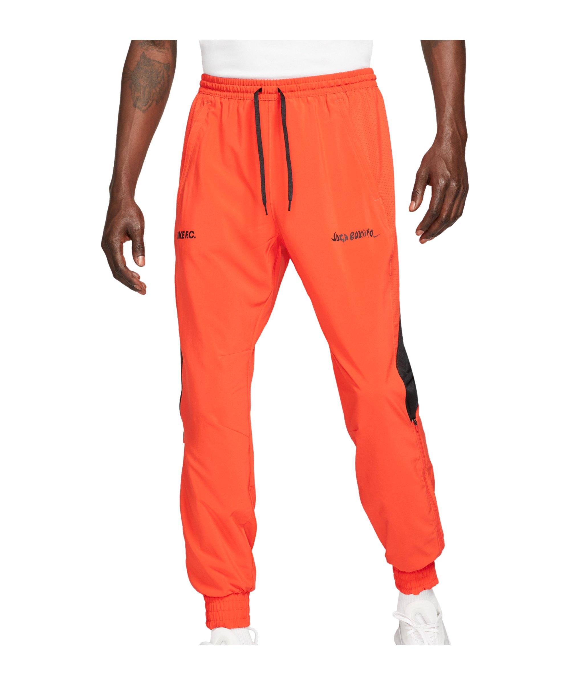 Nike F.C. Joga Bonito Woven Hose Rot F673 - rot