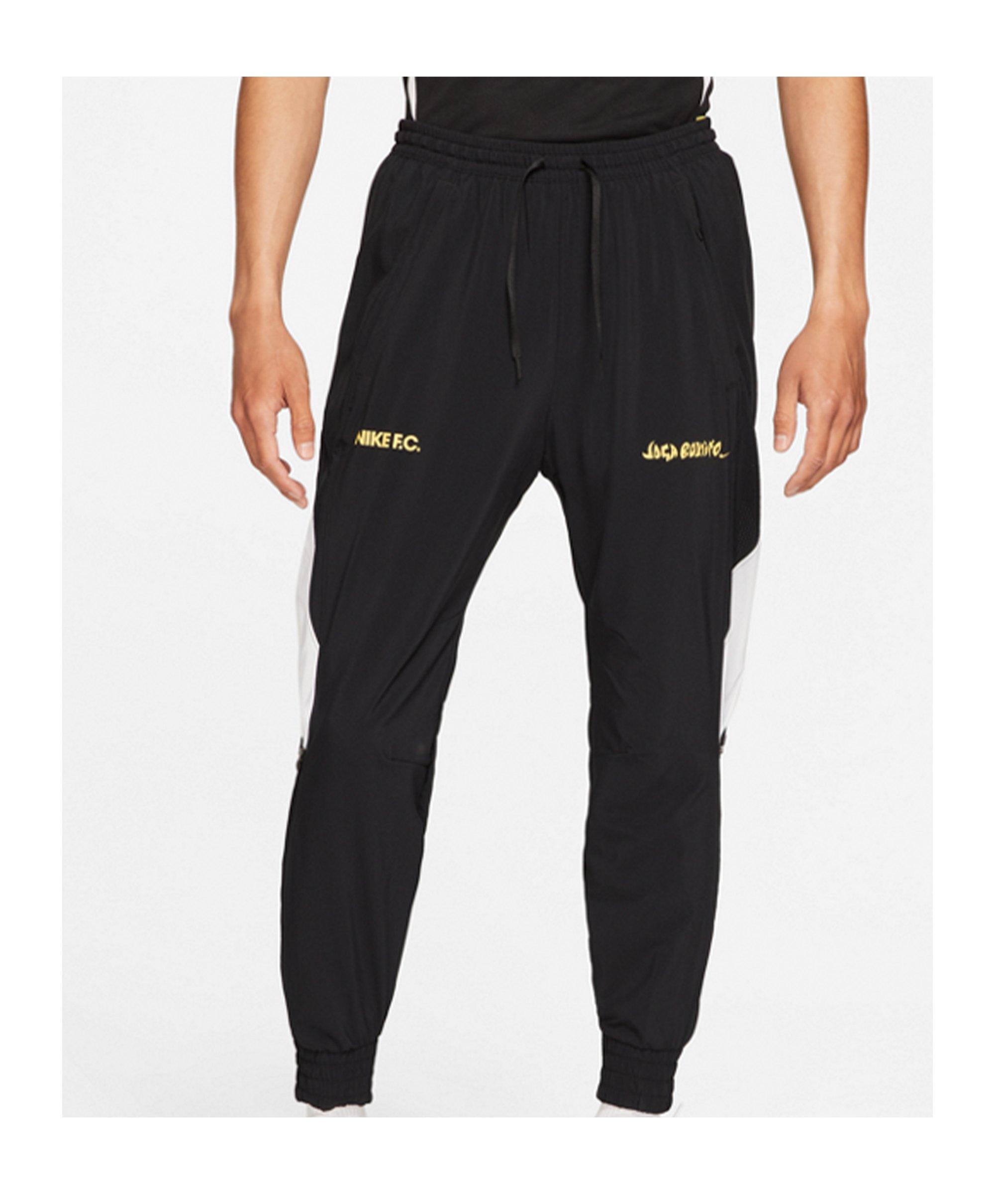 Nike F.C. Joga Bonito Woven Hose Schwarz F010 - schwarz