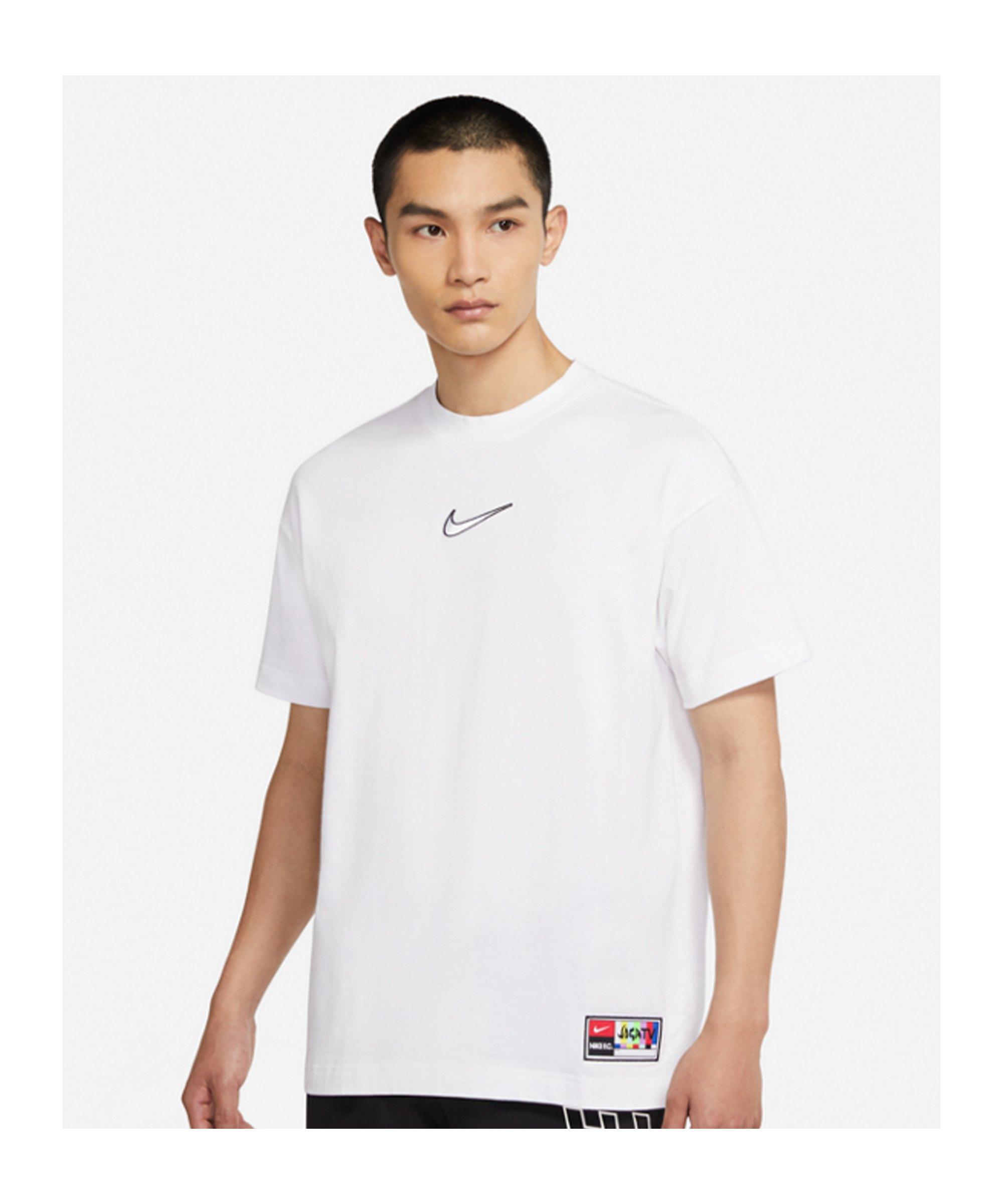 Nike F.C. Joga Bonito Cotton Jersey T-Shirt F100 - weiss