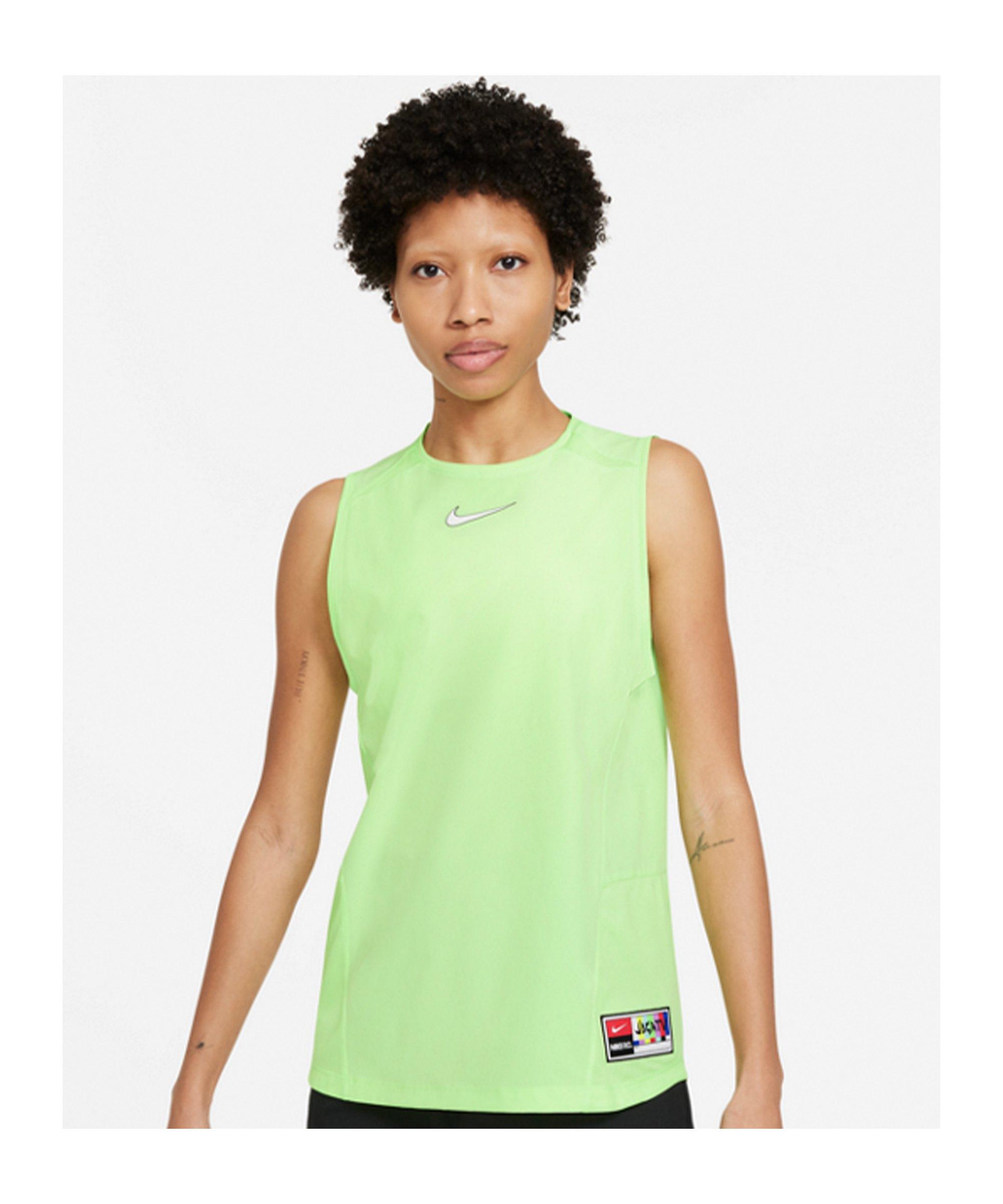 Nike F.C. Joga Bonito Tanktop Damen Gelb F345 - gruen