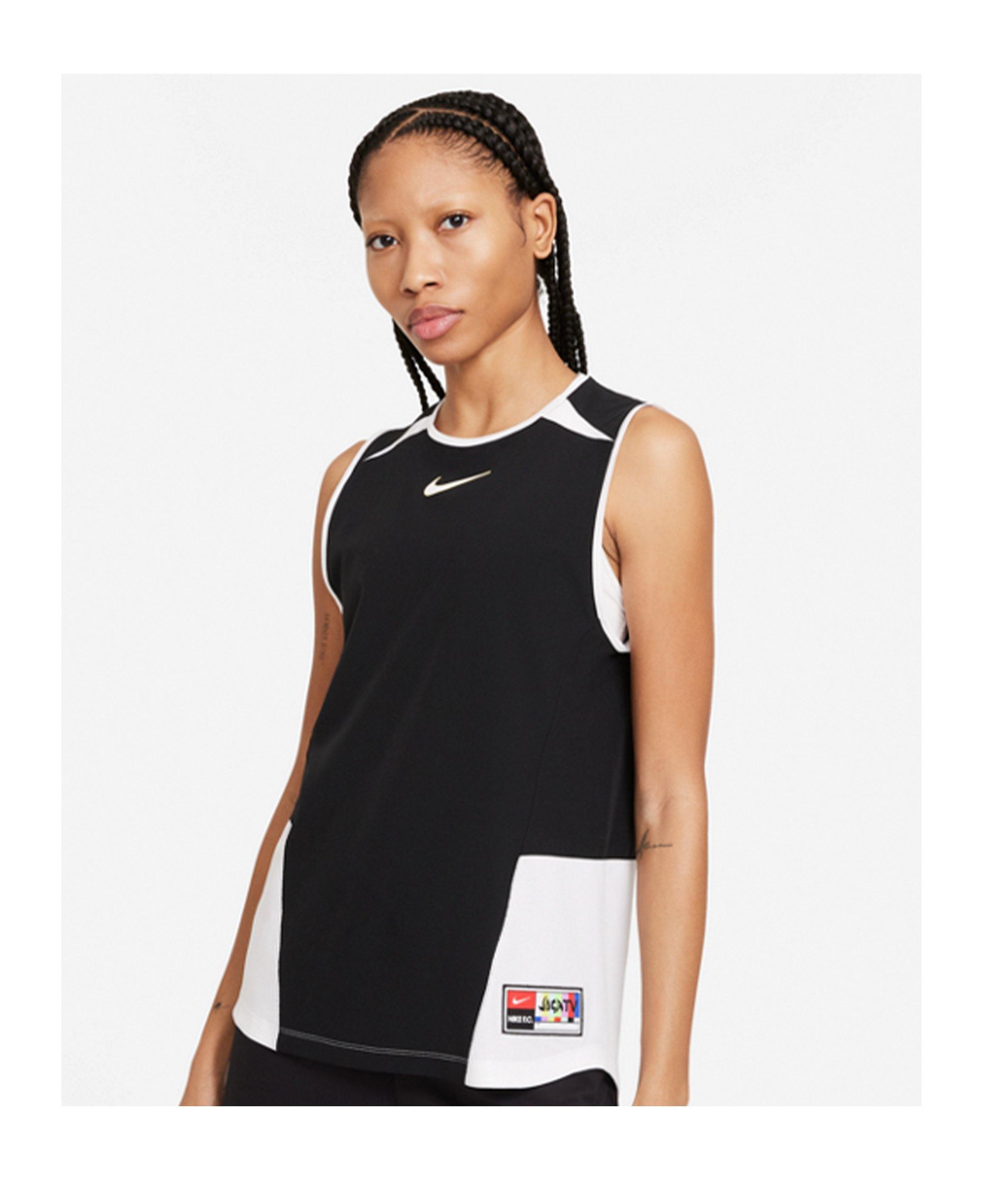 Nike F.C. Joga Bonito Tanktop Damen Schwarz F010 - schwarz