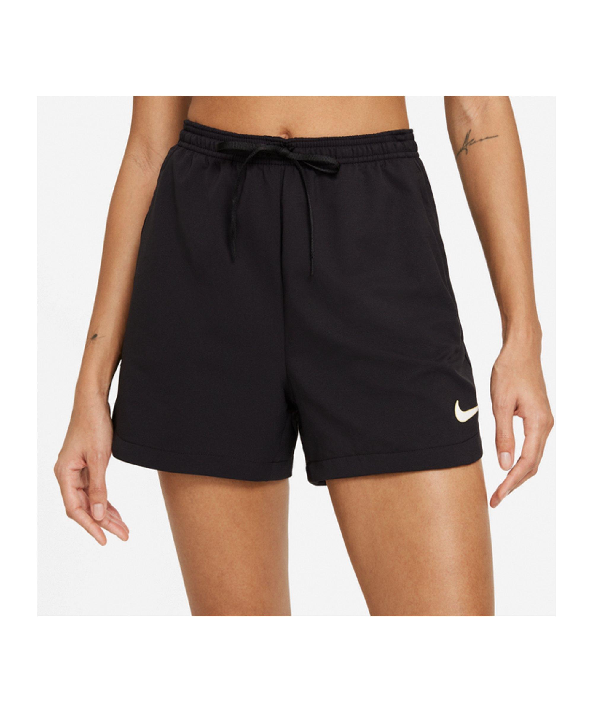 Nike F.C. Short Damen Schwarz F010 - schwarz