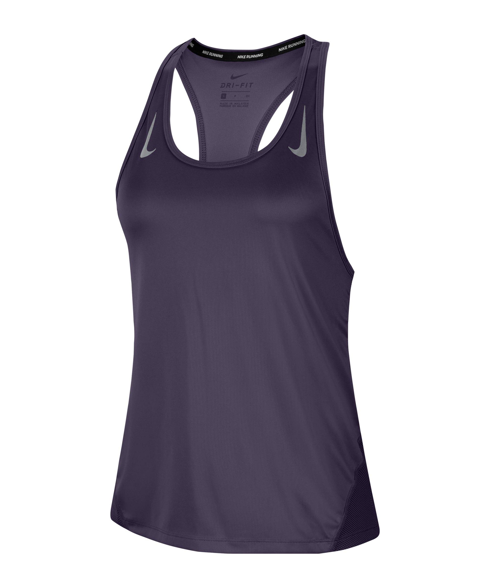 Nike Miler Tanktop Running Damen Lila F573 - lila