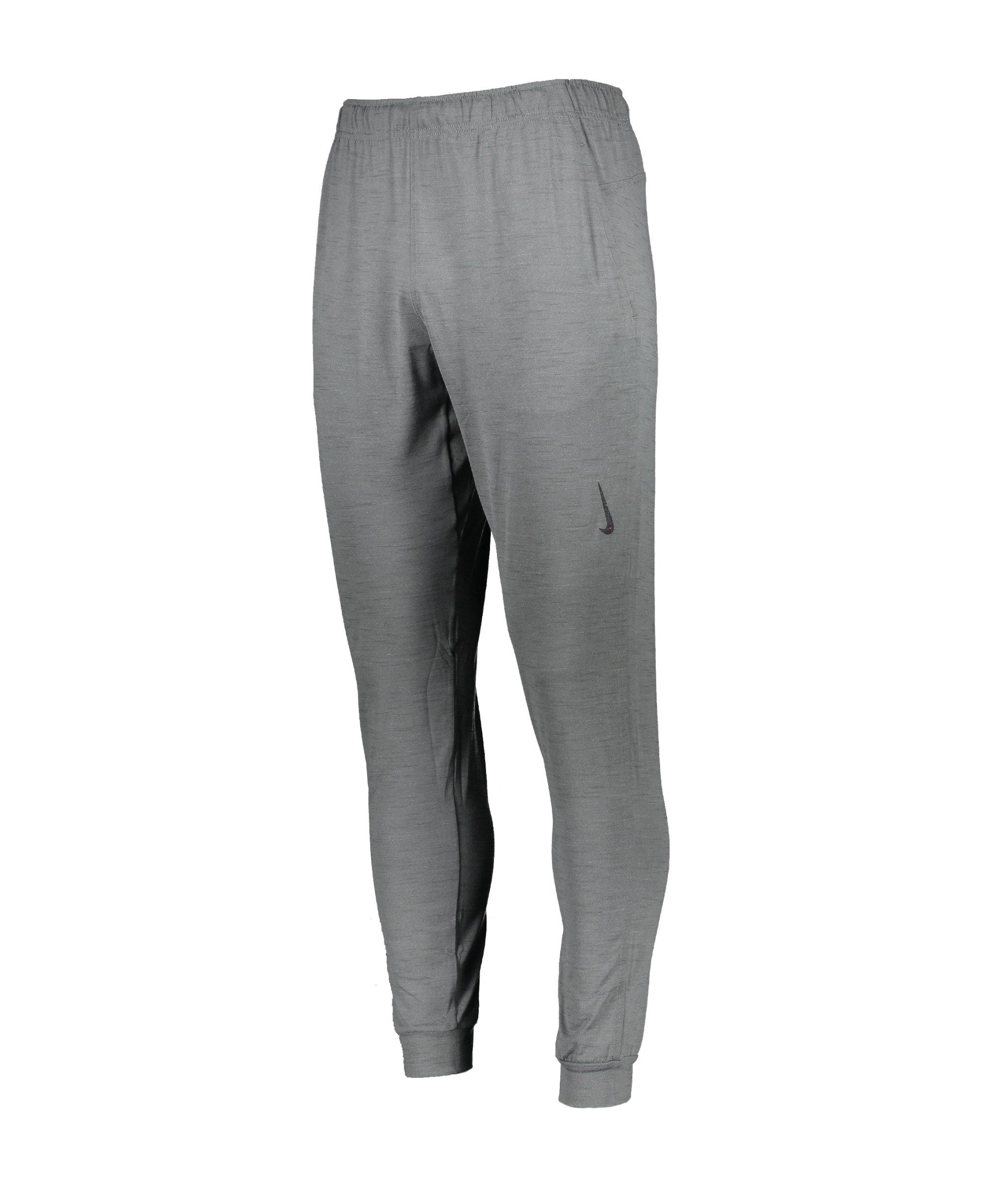 Nike Yoga Hose Training Grau F068 - grau