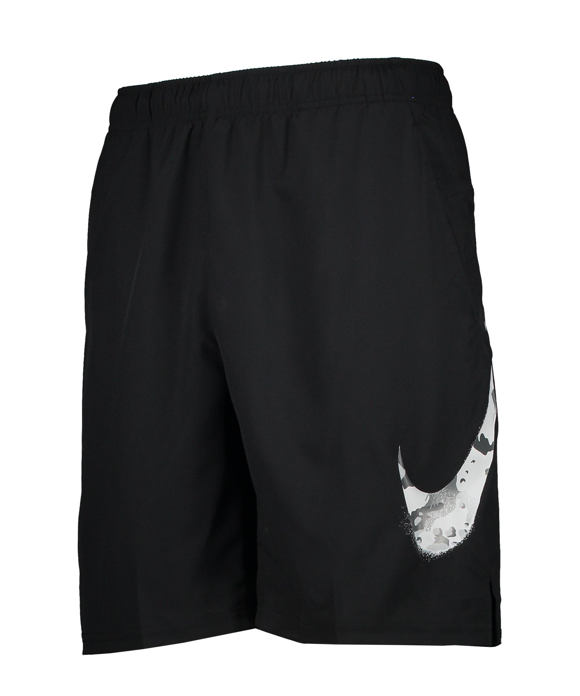 Nike Camo Short Schwarz F010 - schwarz
